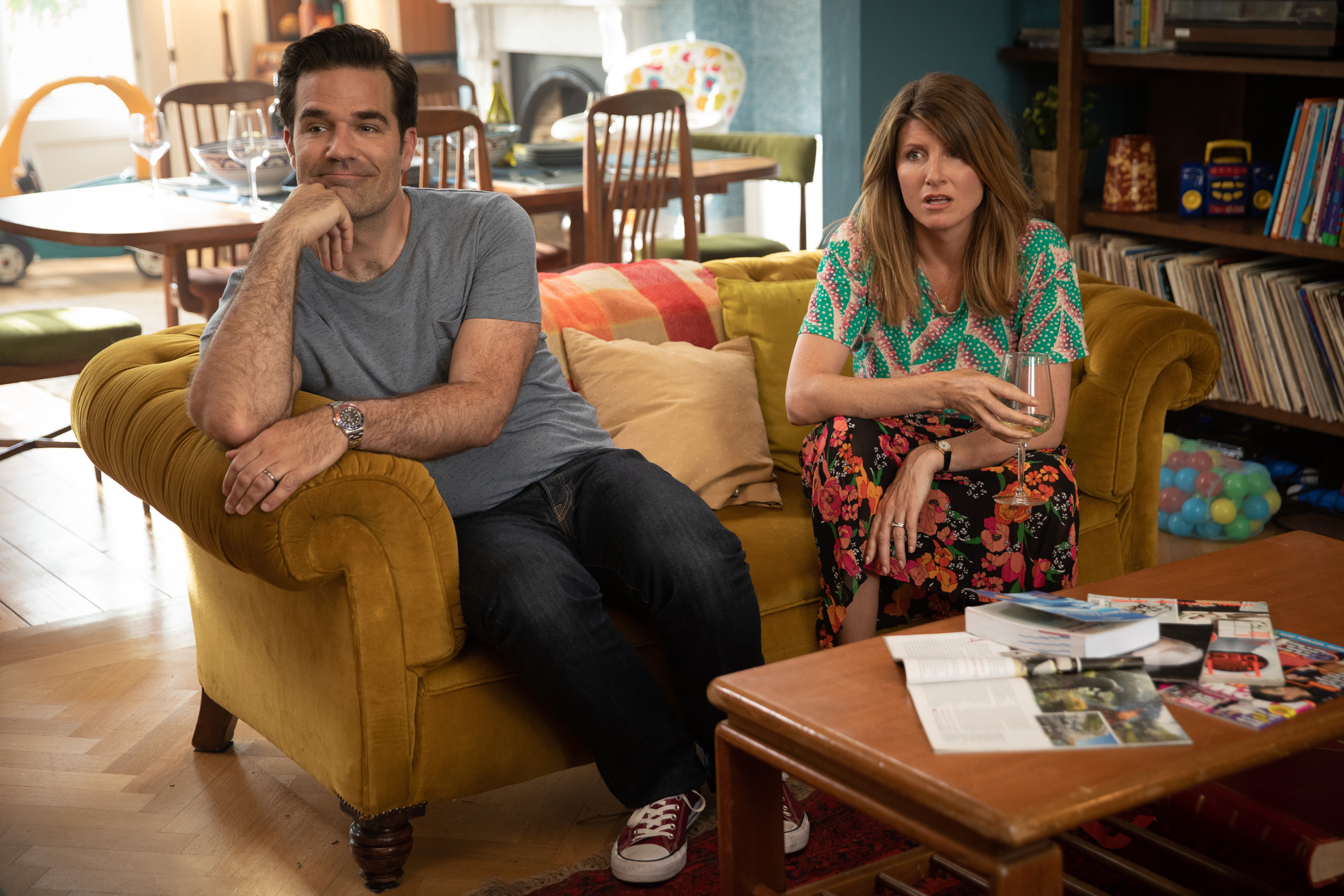 """Sharon Horgan and Rob Delaney in the final season of """"Catastrophe."""" (Ed Miller/Epk)"""