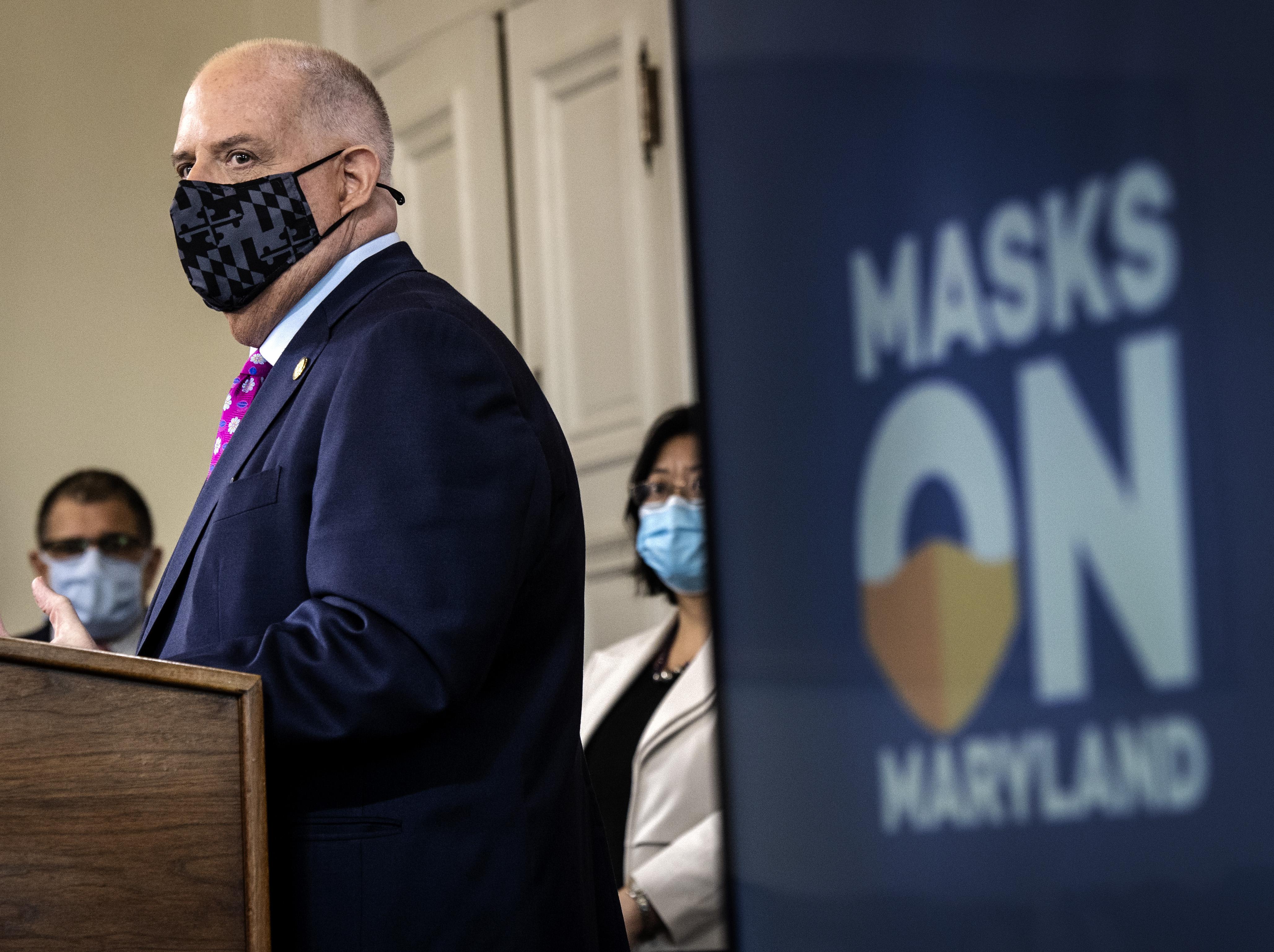 Maryland Gov Larry Hogan Tightens Coronavirus Restrictions The Washington Post