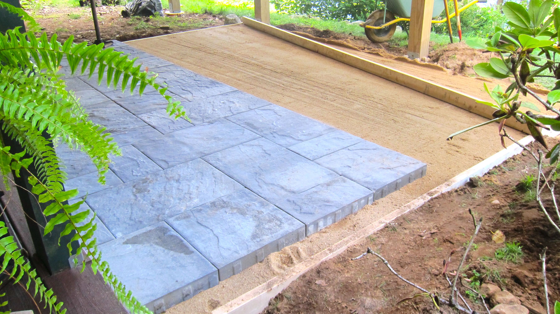 Installing Patio Pavers Is Not As Tough As You Think The Washington Post