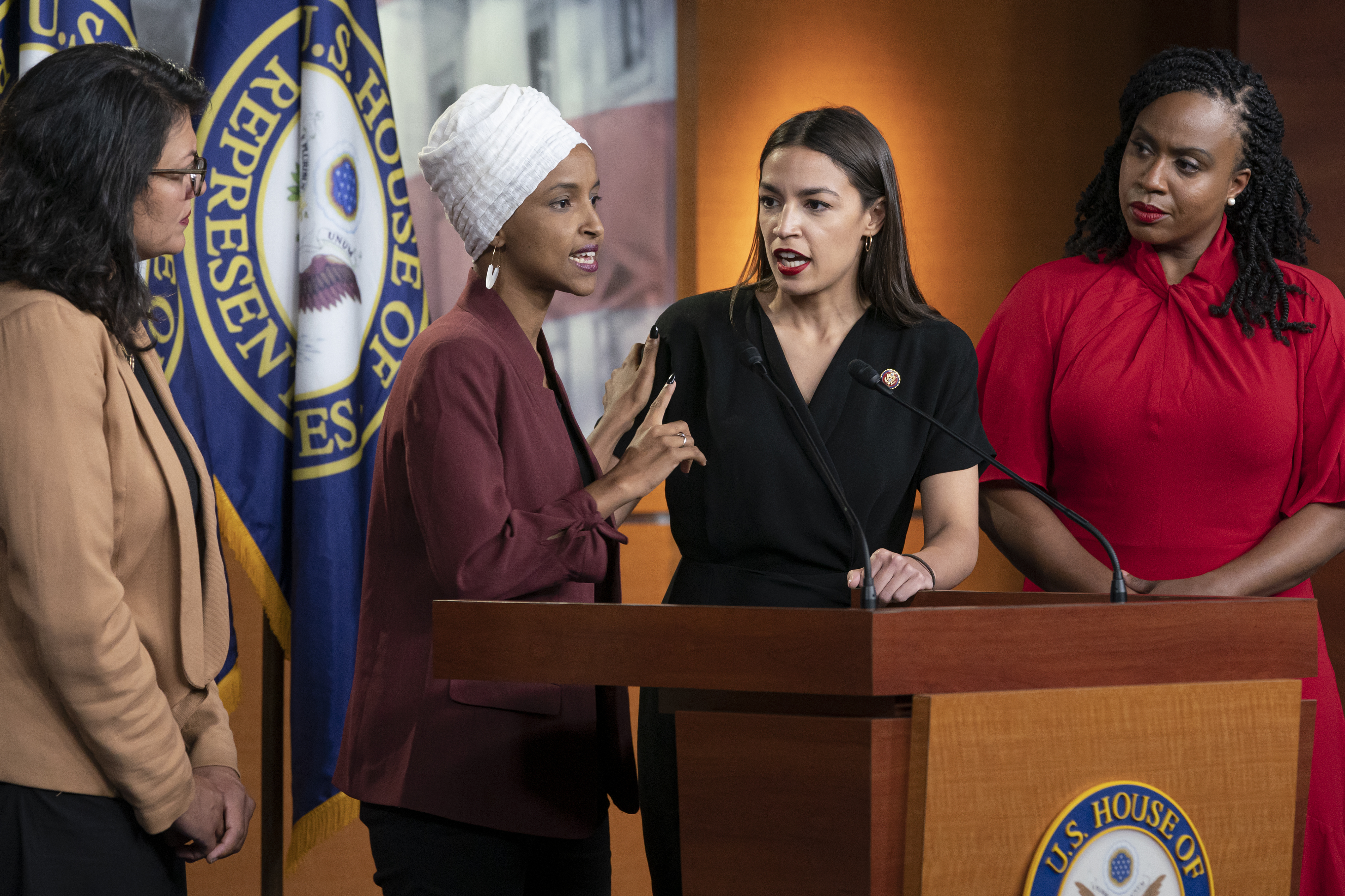 Ocasio-Cortez downplays tensions between Pelosi and 'the