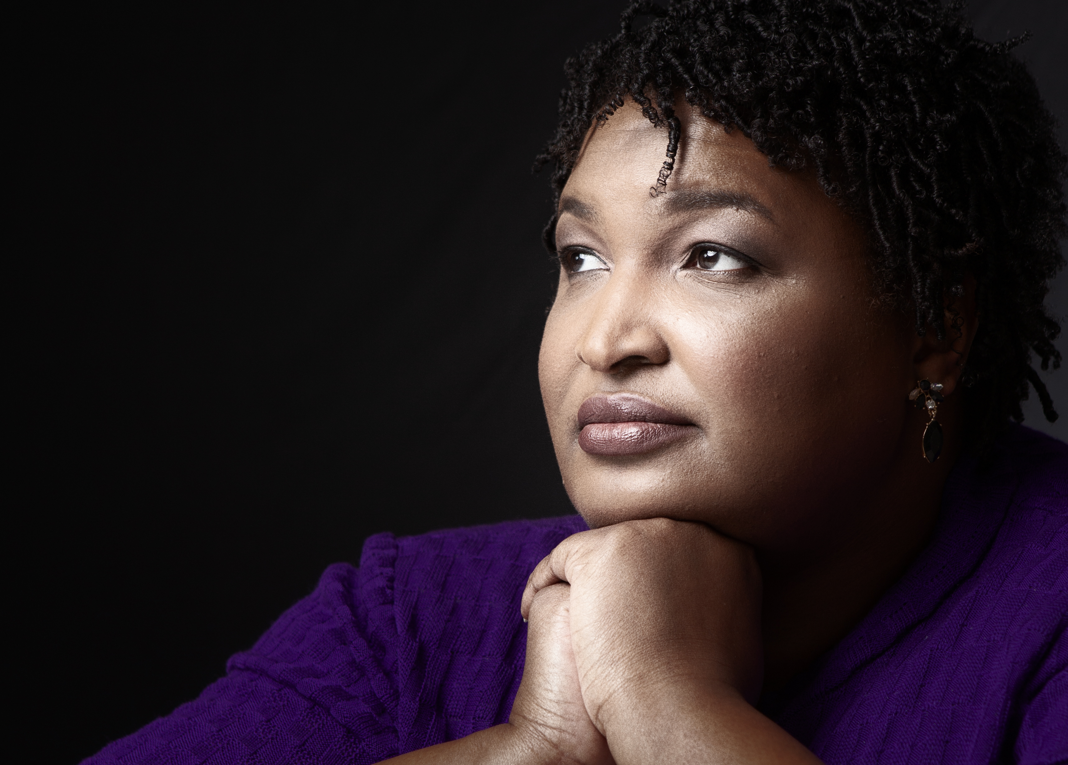 Stacey Abrams: Being a black woman in politics isn't 'some fatal diagnosis'