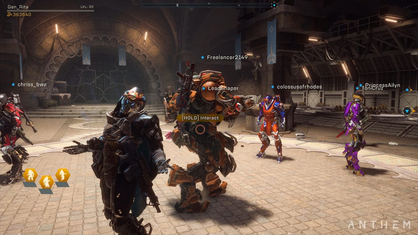 Anthem Agony Crashing Ps4s Weak Weapons And A World Of Meh