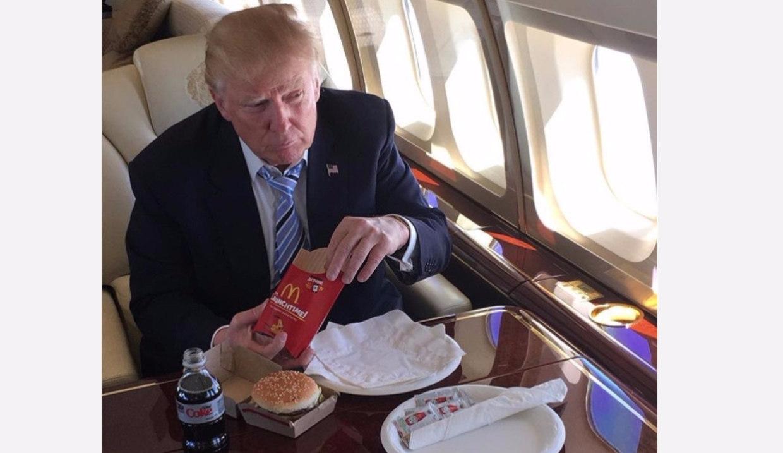 trump only fat people drink diet coke