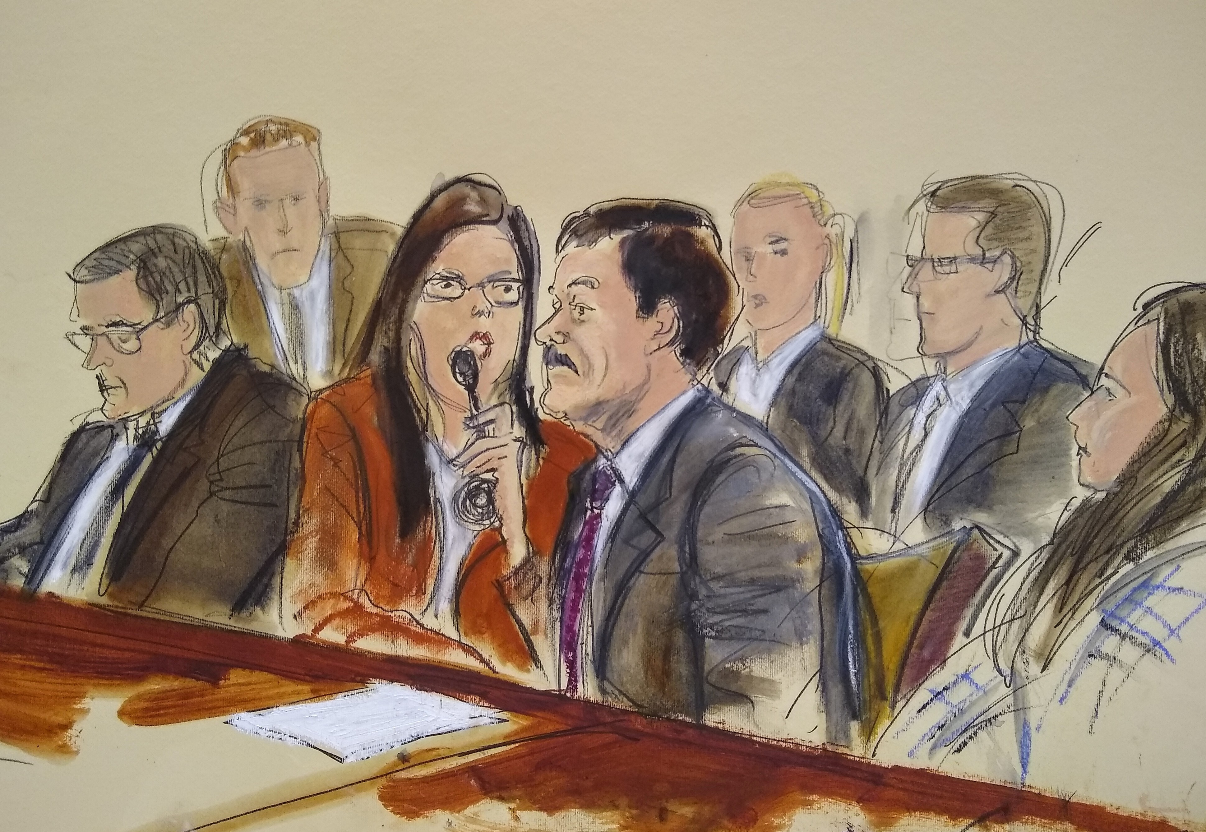 El Chapo sentenced in New York federal court - The Washington Post