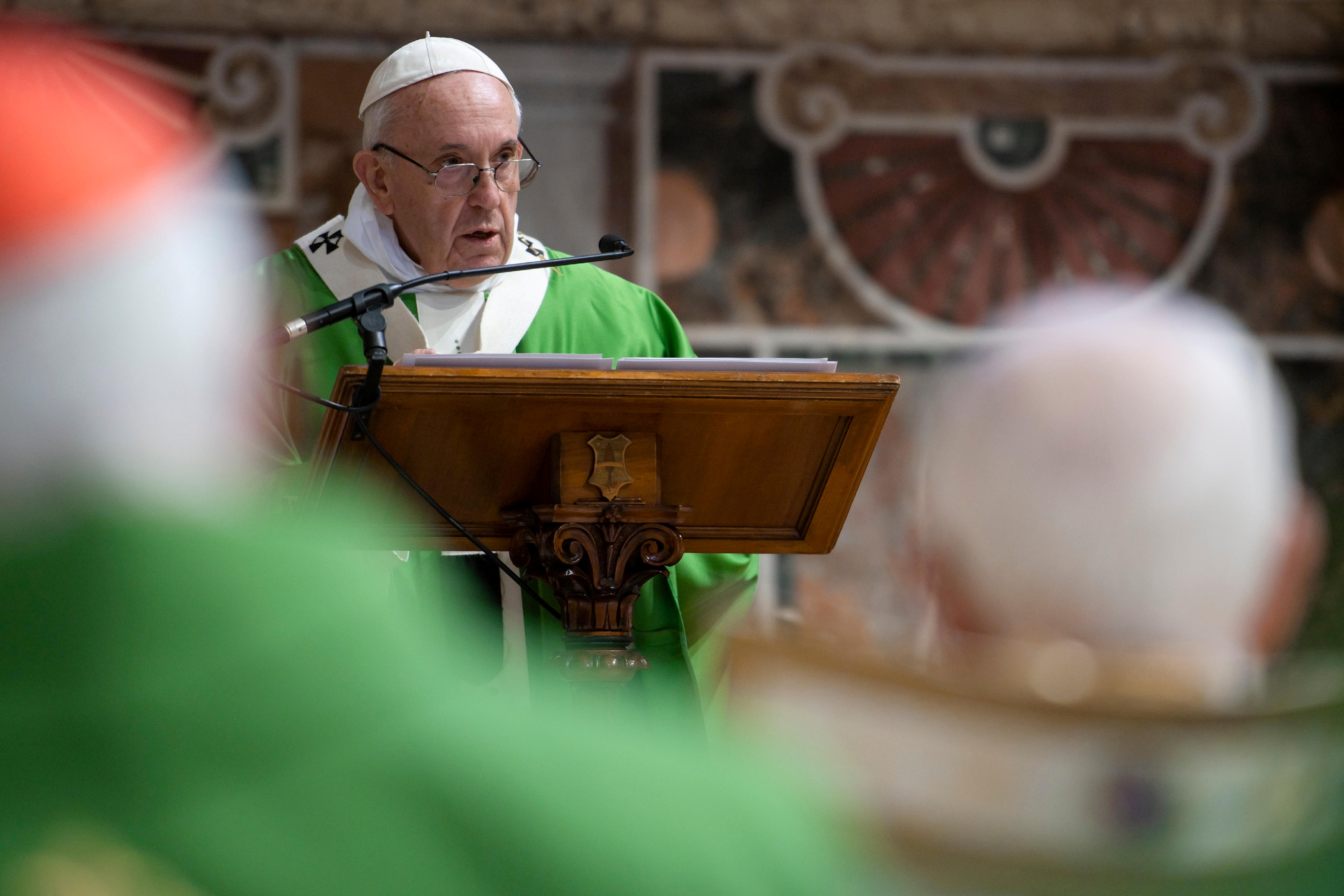 Pope Francis wants Catholic priests to undergo psychological