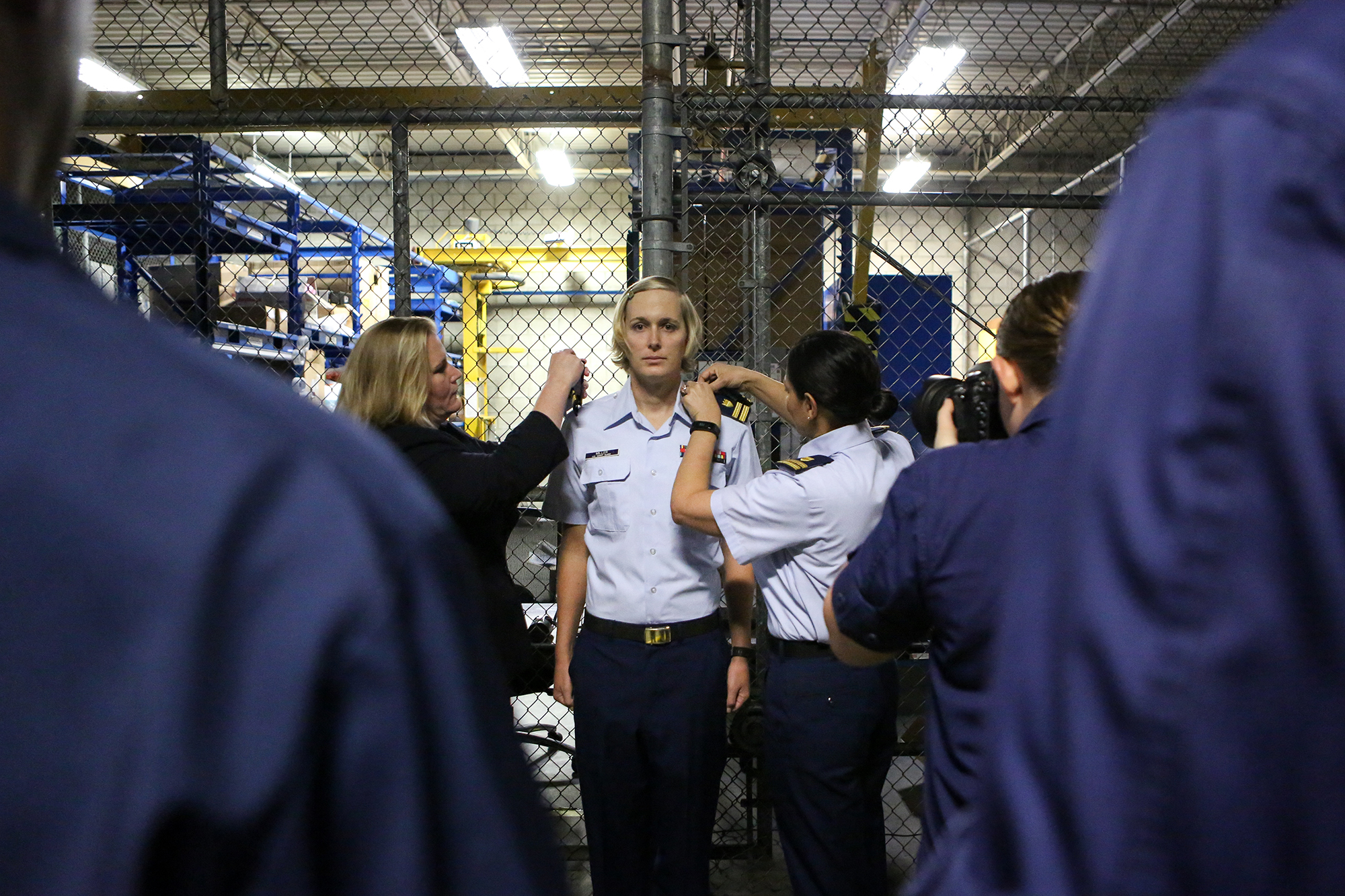 A U S  Coast Guard officer transitions to a woman while on