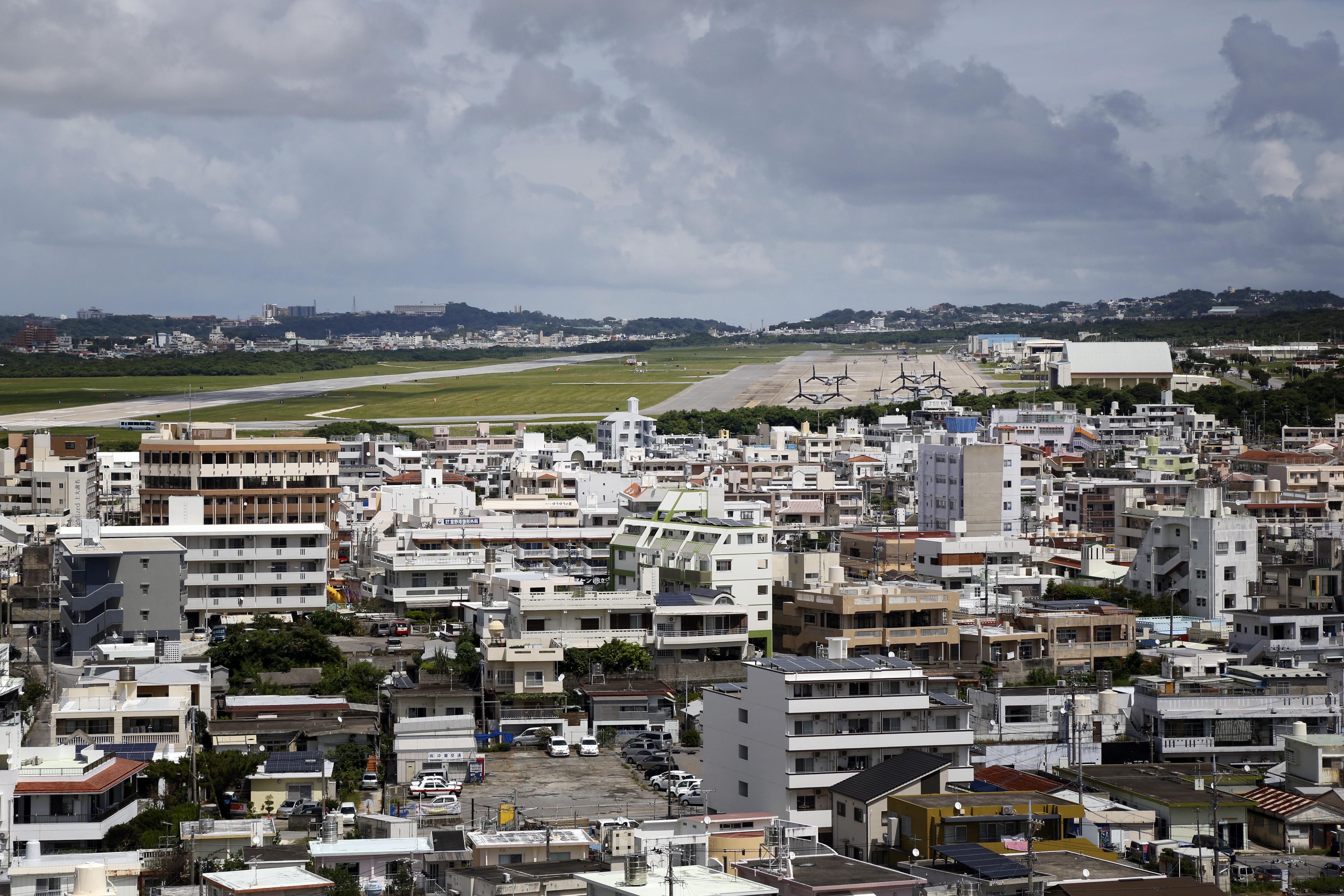 On Japan's Okinawa, U.S. military is accused of contaminating environment with hazardous chemical
