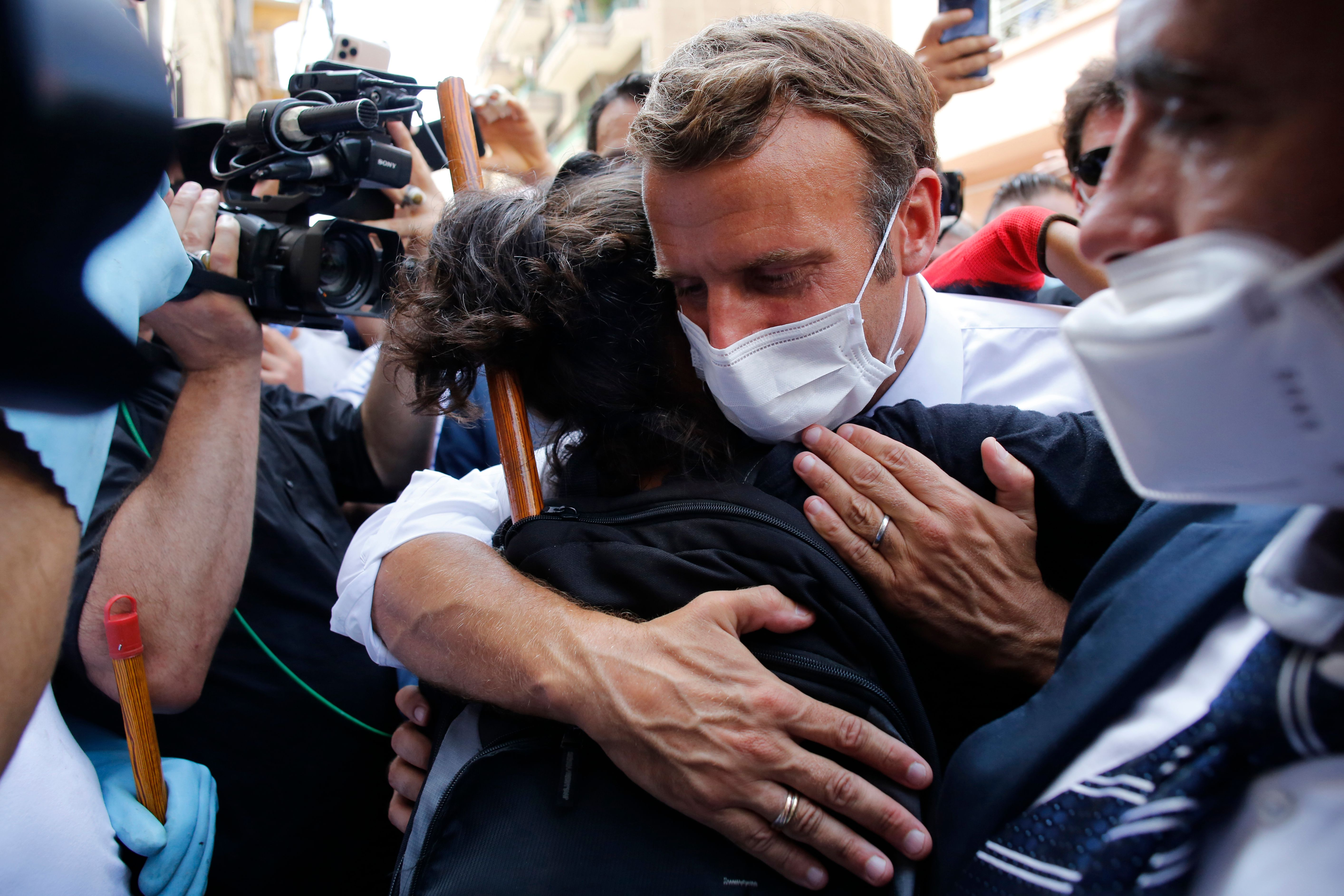 Opinion Macron S Beirut Visit Raised Cheers But Also Questions What Does France Owe Lebanon And Can It Deliver The Washington Post