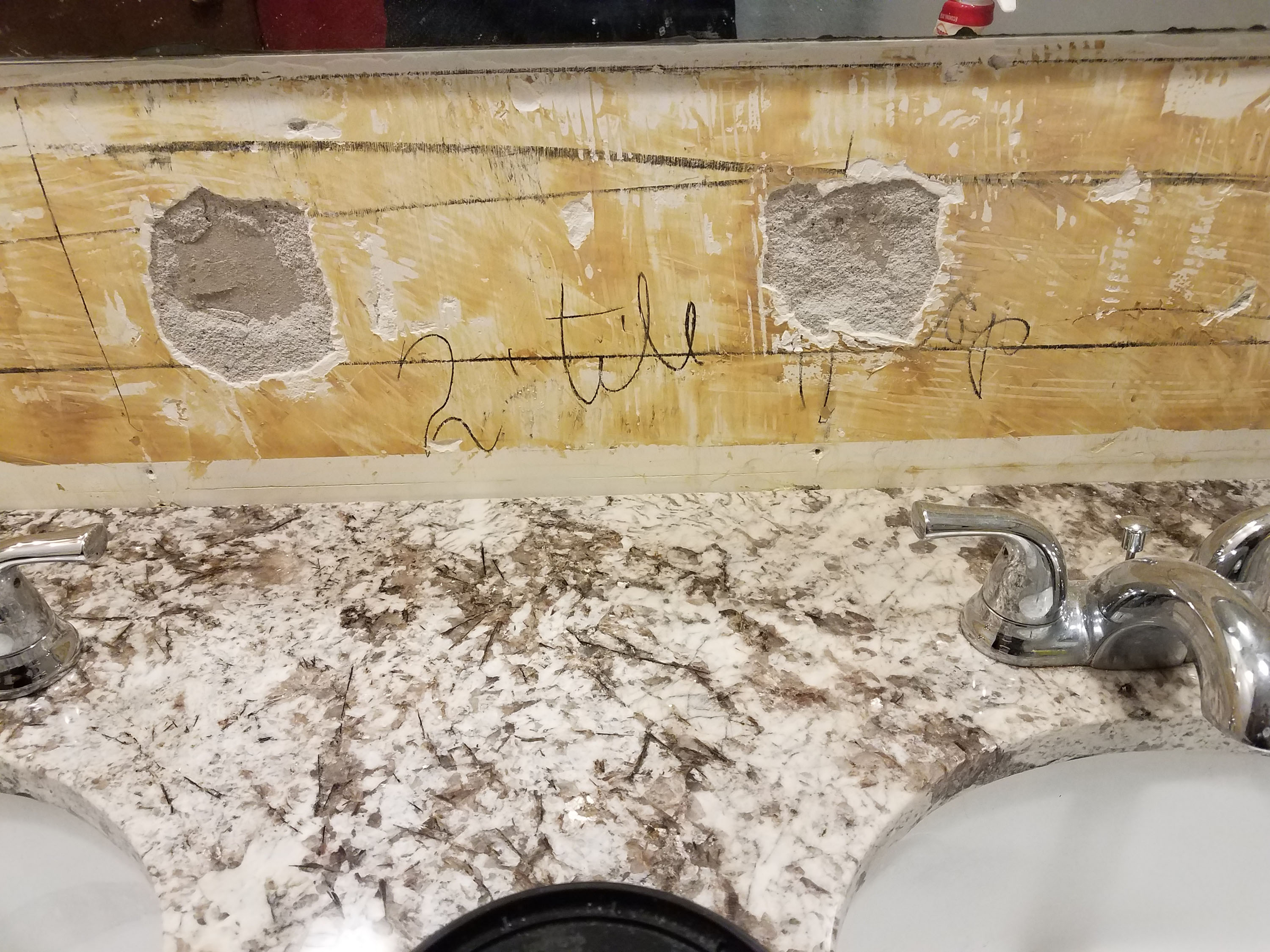 Why you should never put ceramic tile on an imperfect wall - The