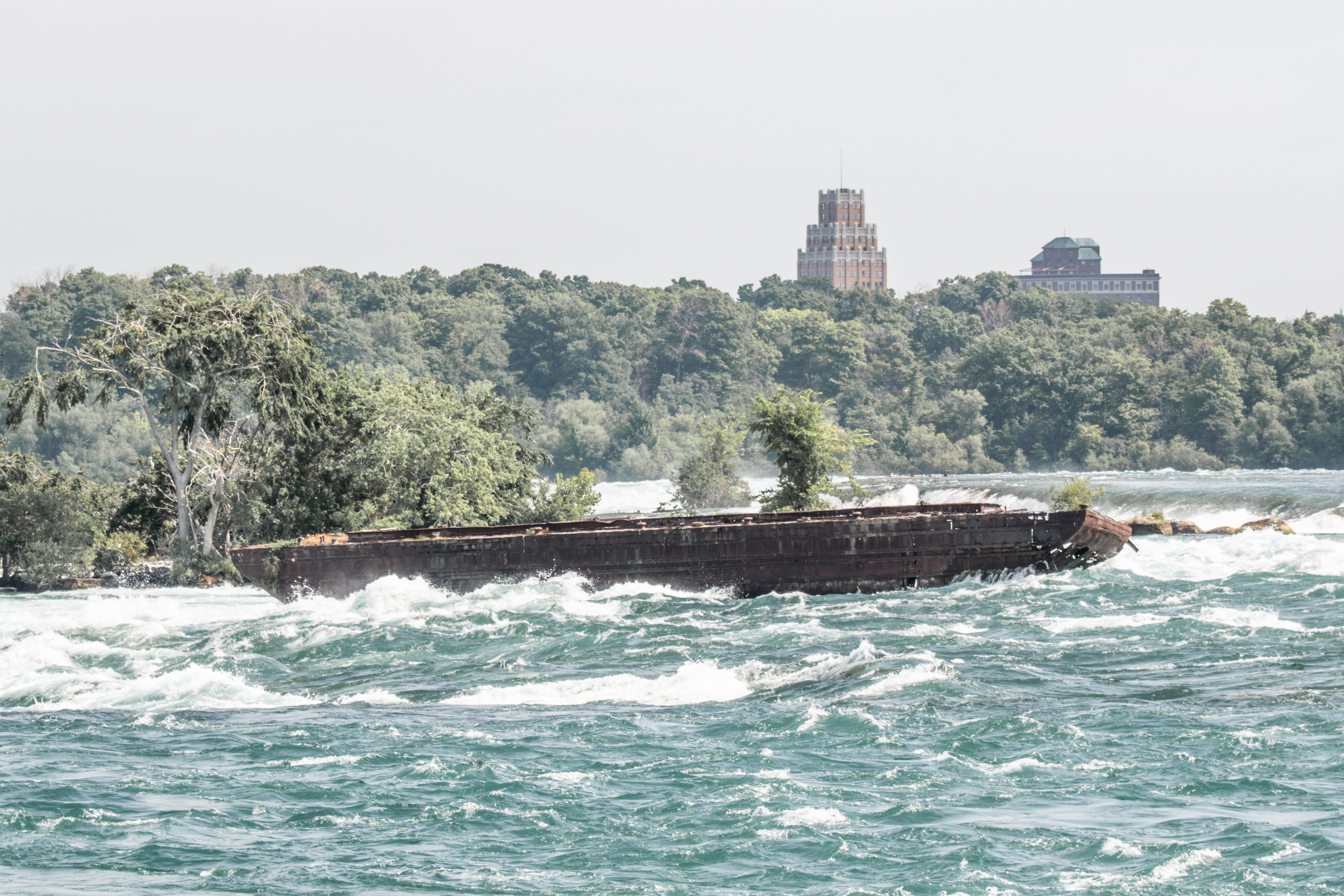 Niagara Falls Boat Moves For First Time In A Century The Washington Post