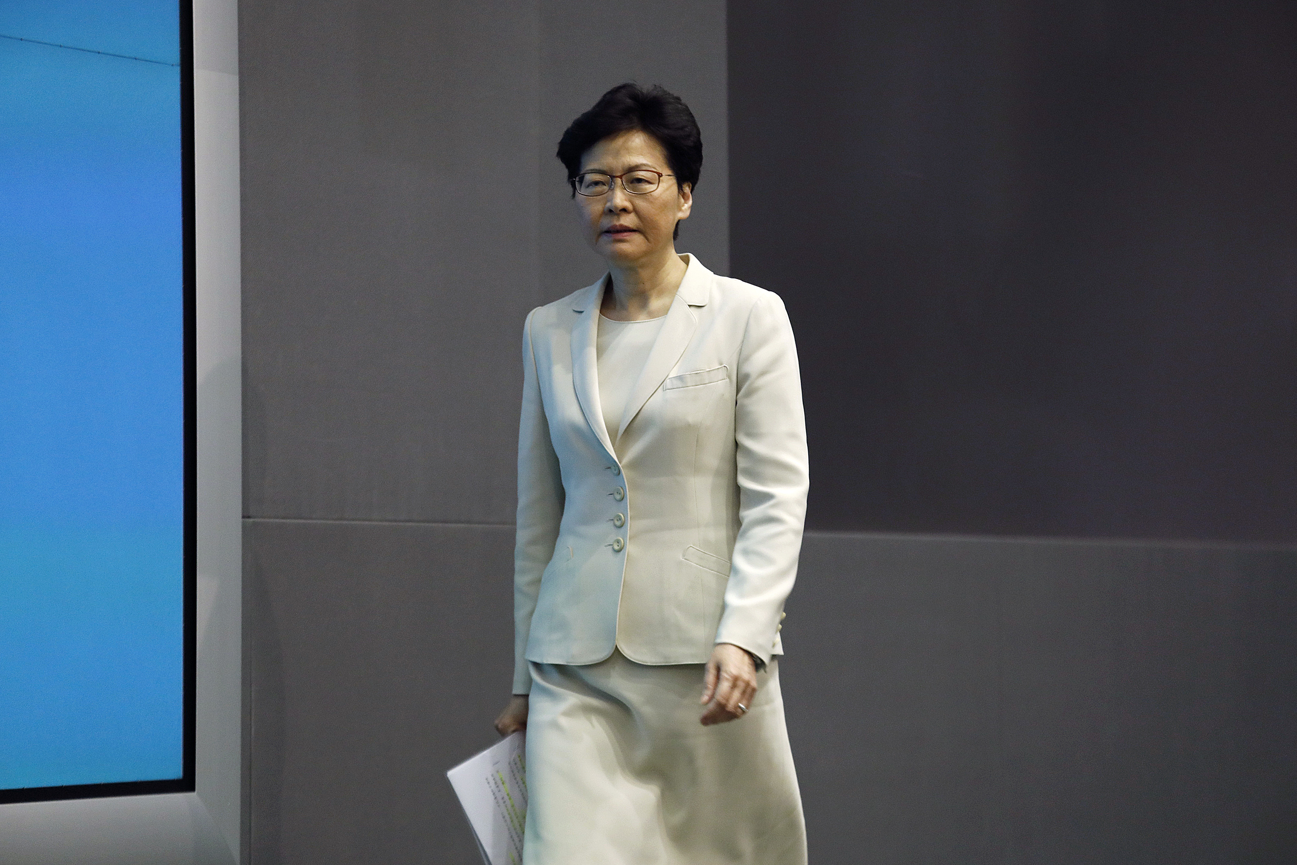 Hong Kong leader Carrie Lam is facing the wrath of her