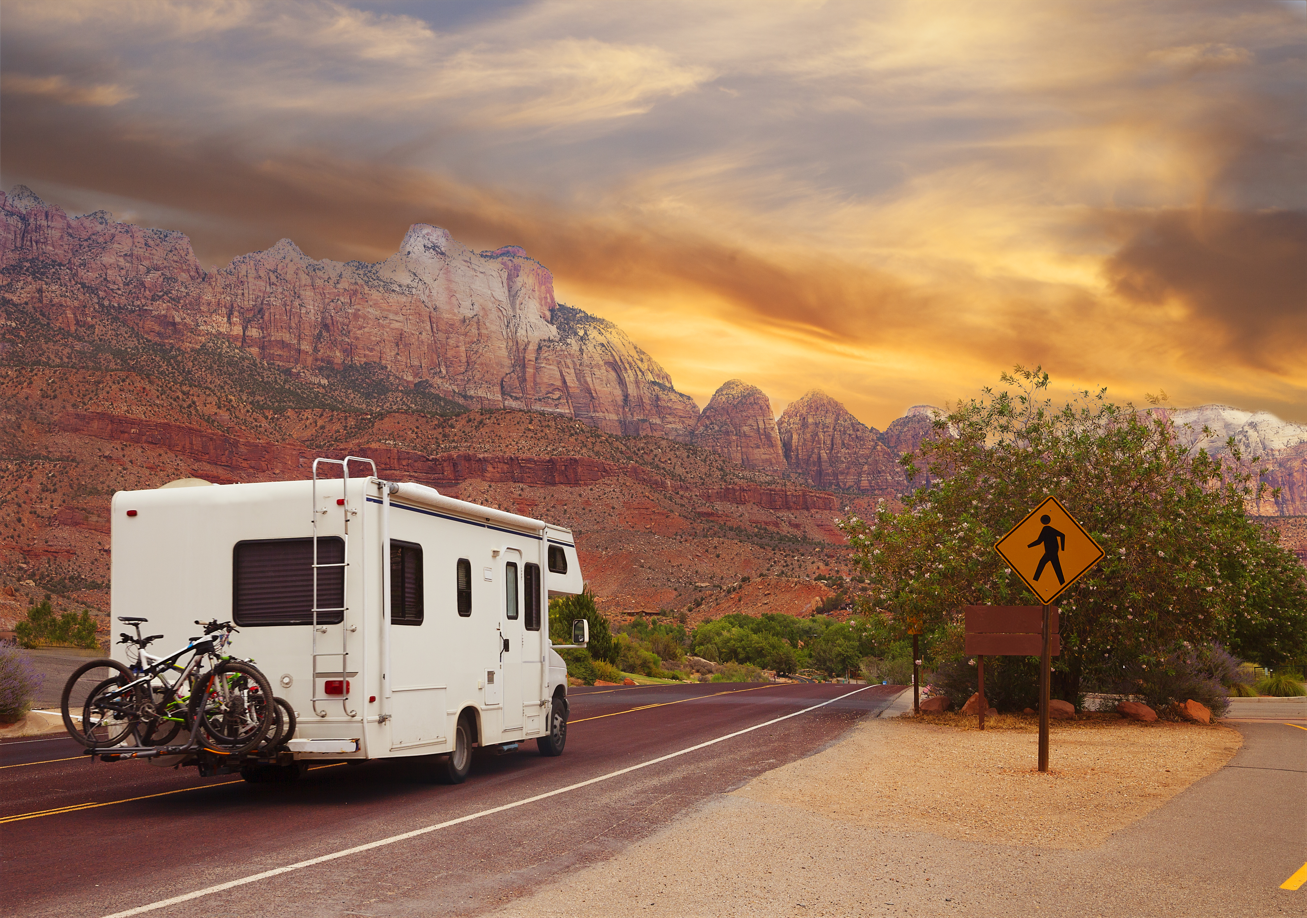 Traveling Across Country In Rv