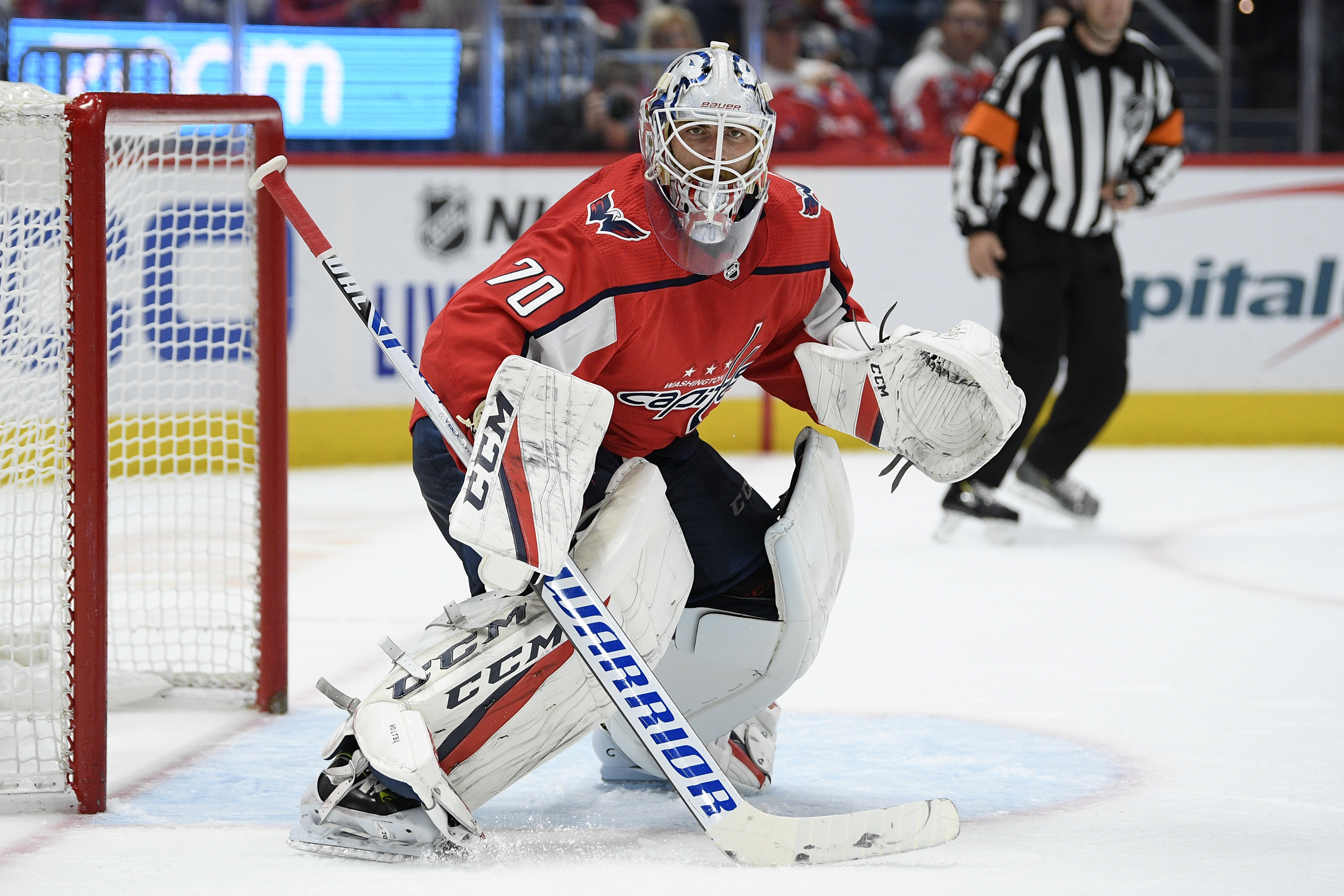 Braden Holtby His Early Struggles Forgotten Stays Strong For The Capitals The Washington Post