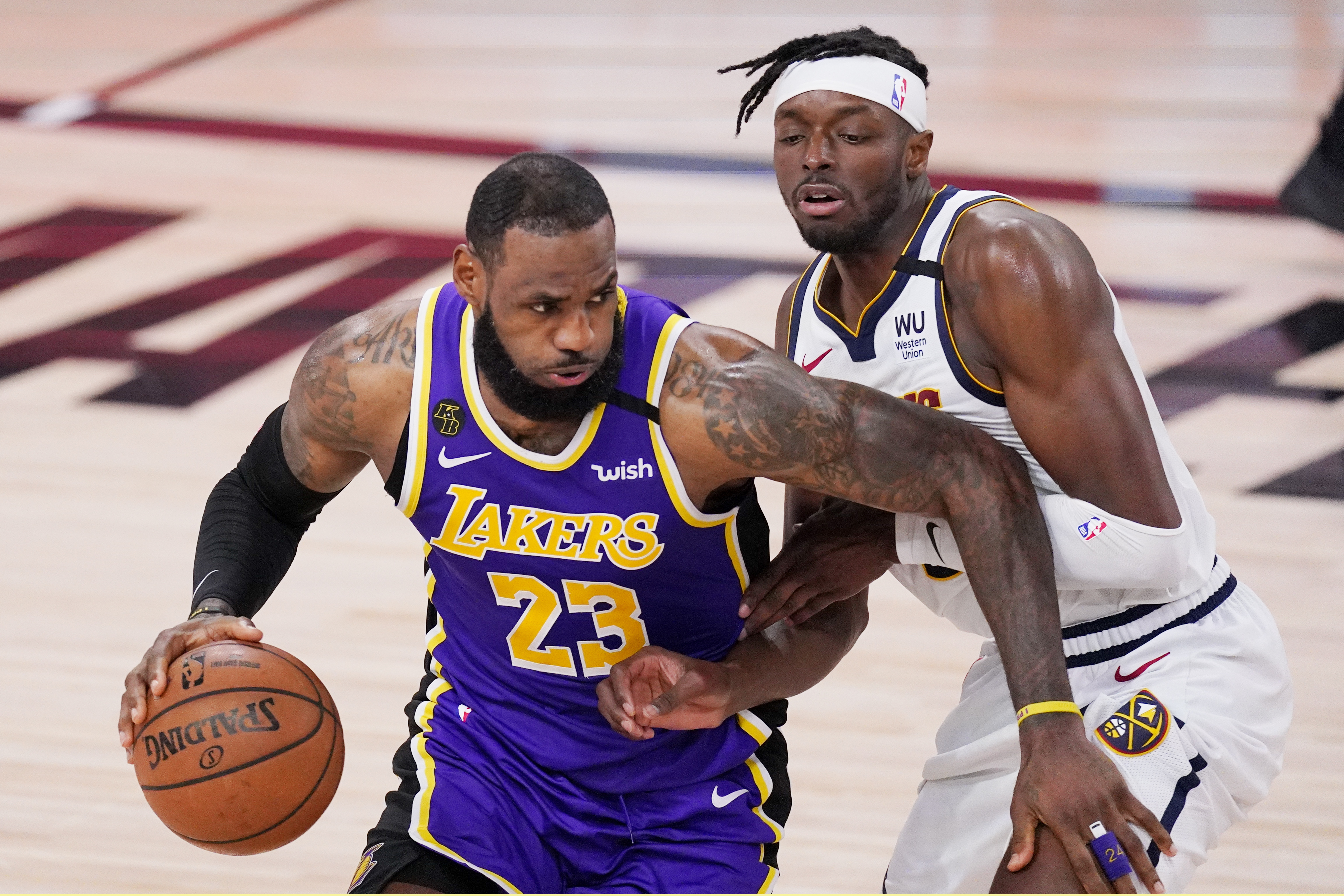 Lebron James Leads Los Angeles Lakers To Nba Finals The Washington Post