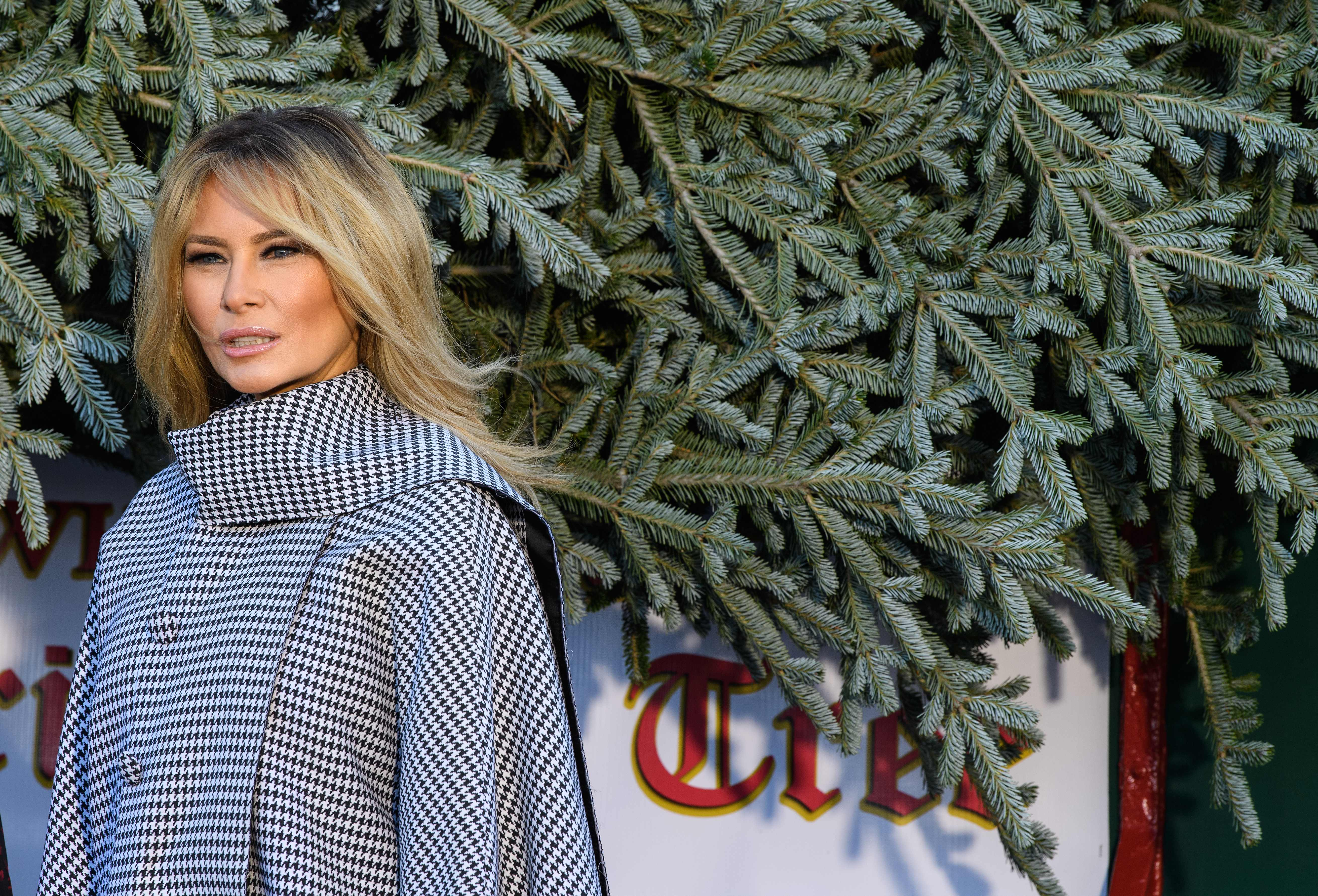 Trump 2021 Christmas Message Melania Trump Christmas Decorations Told Us Everything We Needed To Know About The First Lady The Washington Post