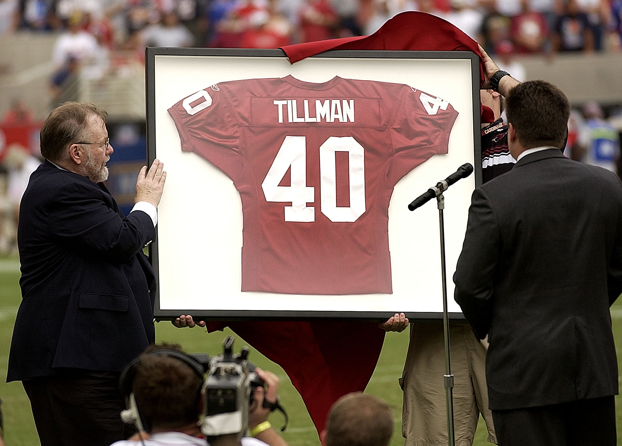 1843c456 I was Pat Tillman's wife, but I can't speak for him. Neither can you ...