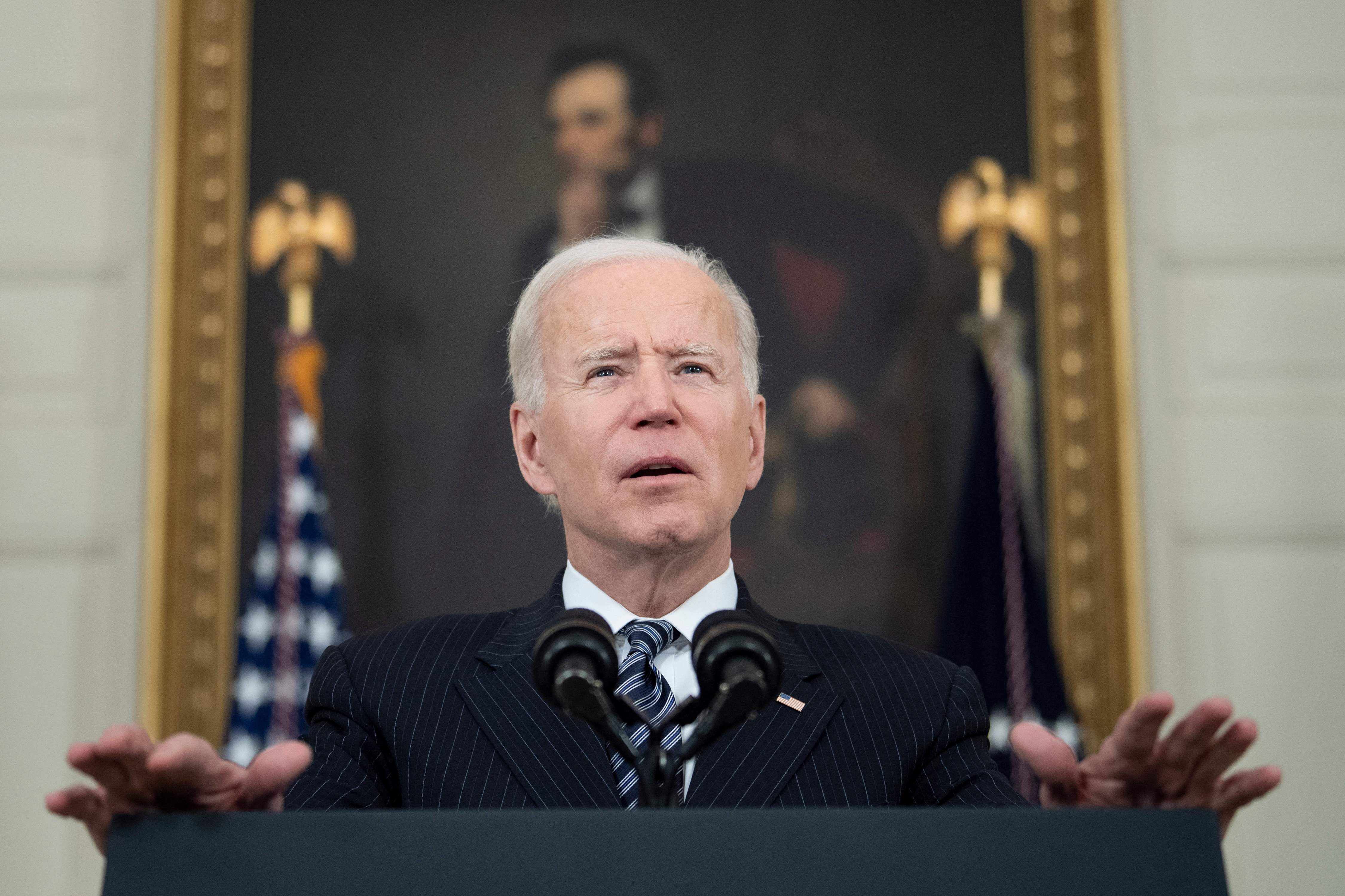 Opinion In His Address To Congress Biden Will Advance His Agenda He Ll Also Have To Defend Democracy The Washington Post