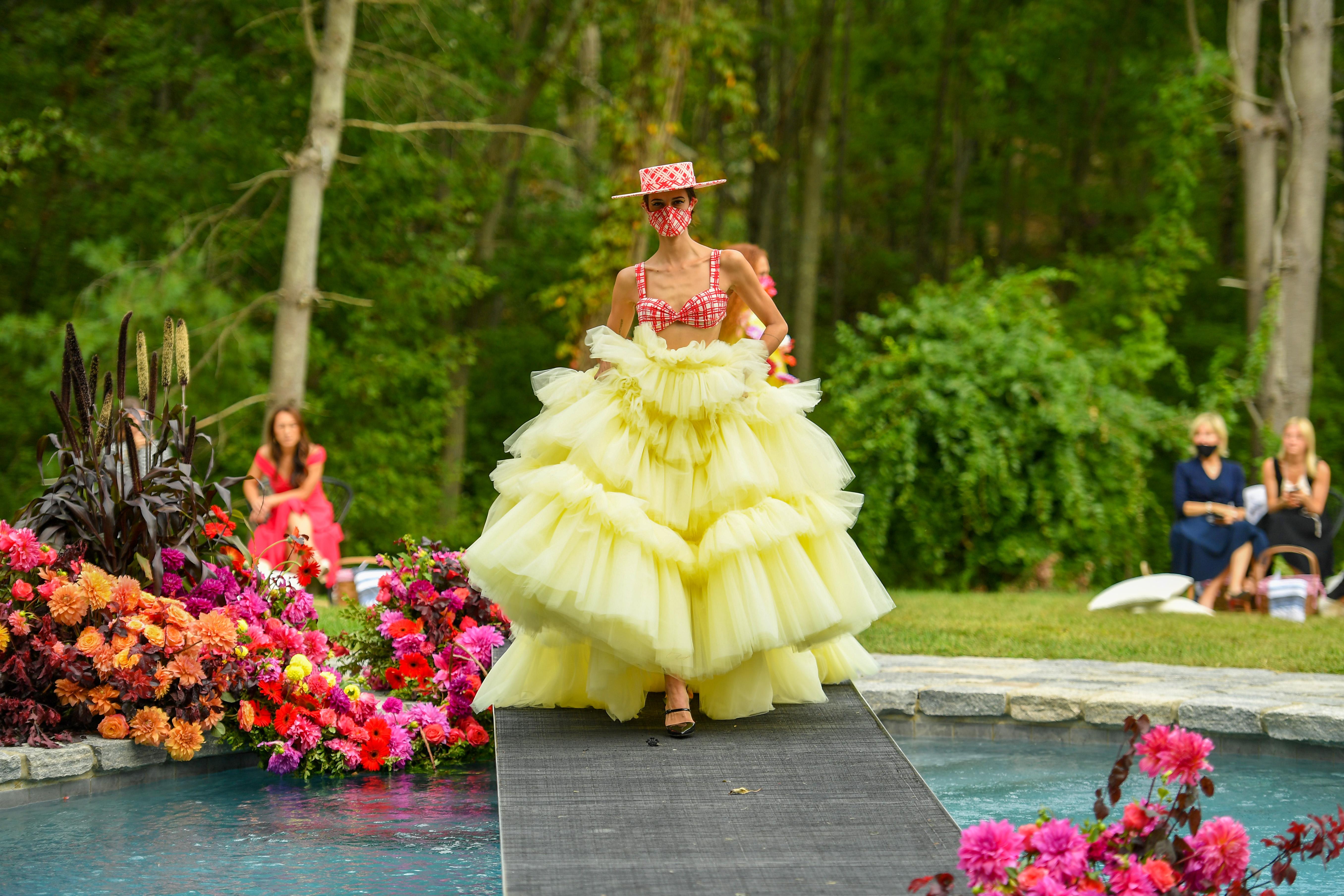 Designers like Christian Siriano made New York fashion week happen