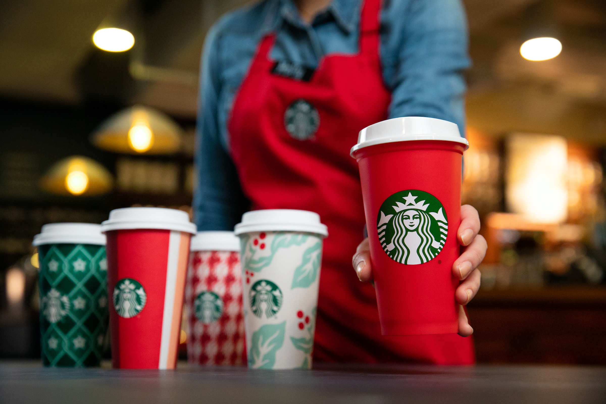 starbucks christmas cups do the new designs embrace the holiday the washington post - Starbuck Christmas Cups