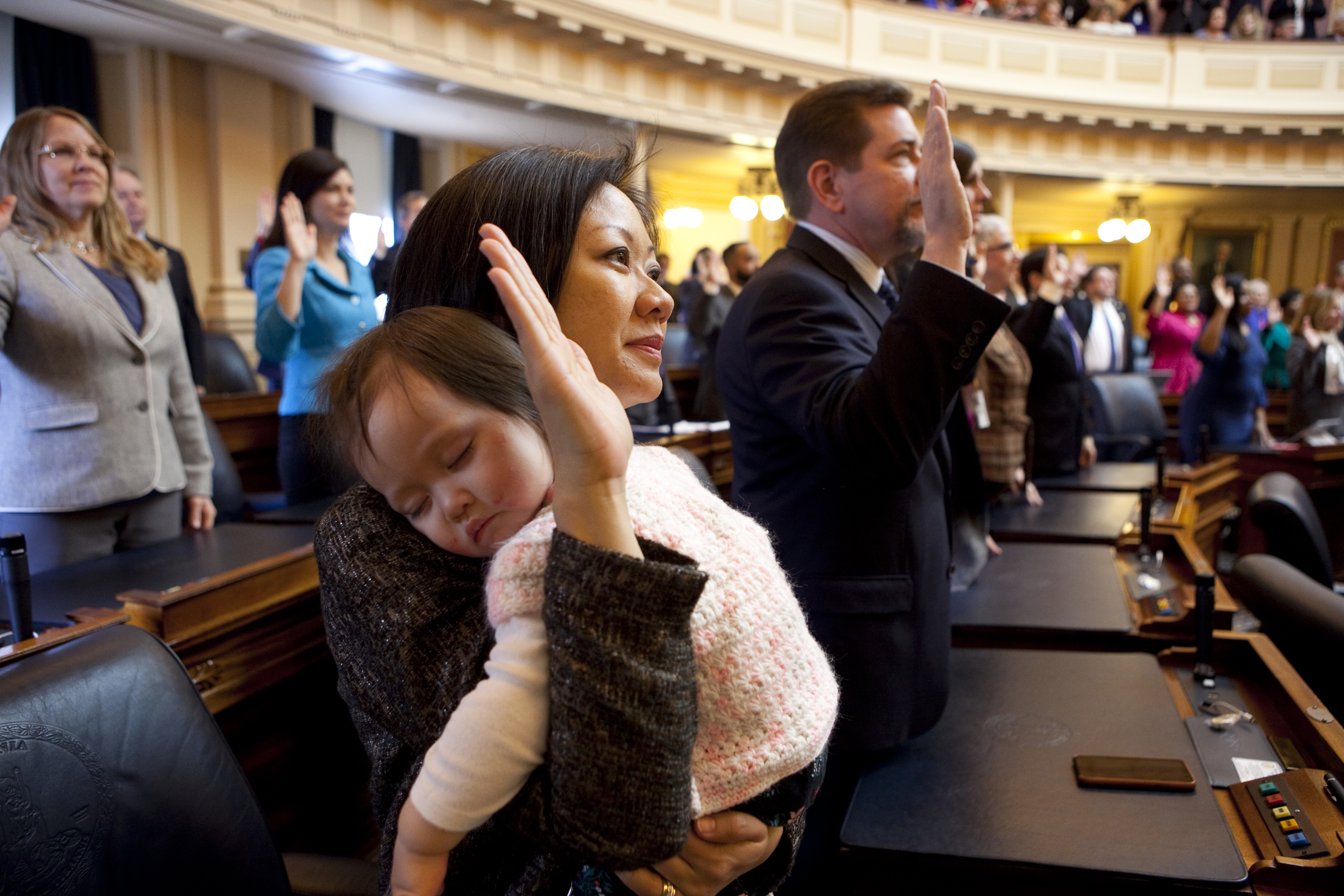 Women hit a record high in Virginia legislature  Can they