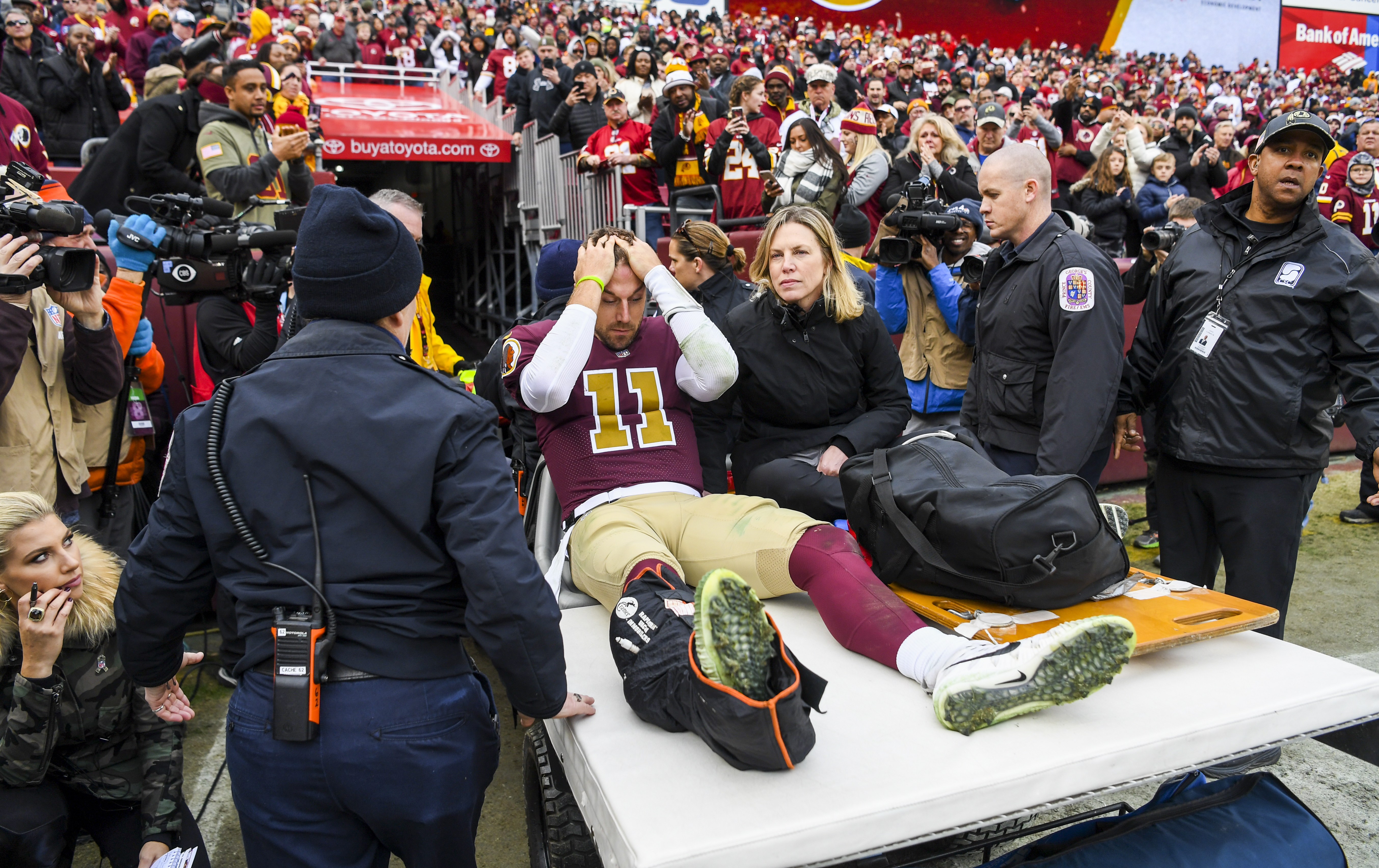 Alex Smith S Physician Is Confident He Can Play Football Again The Washington Post
