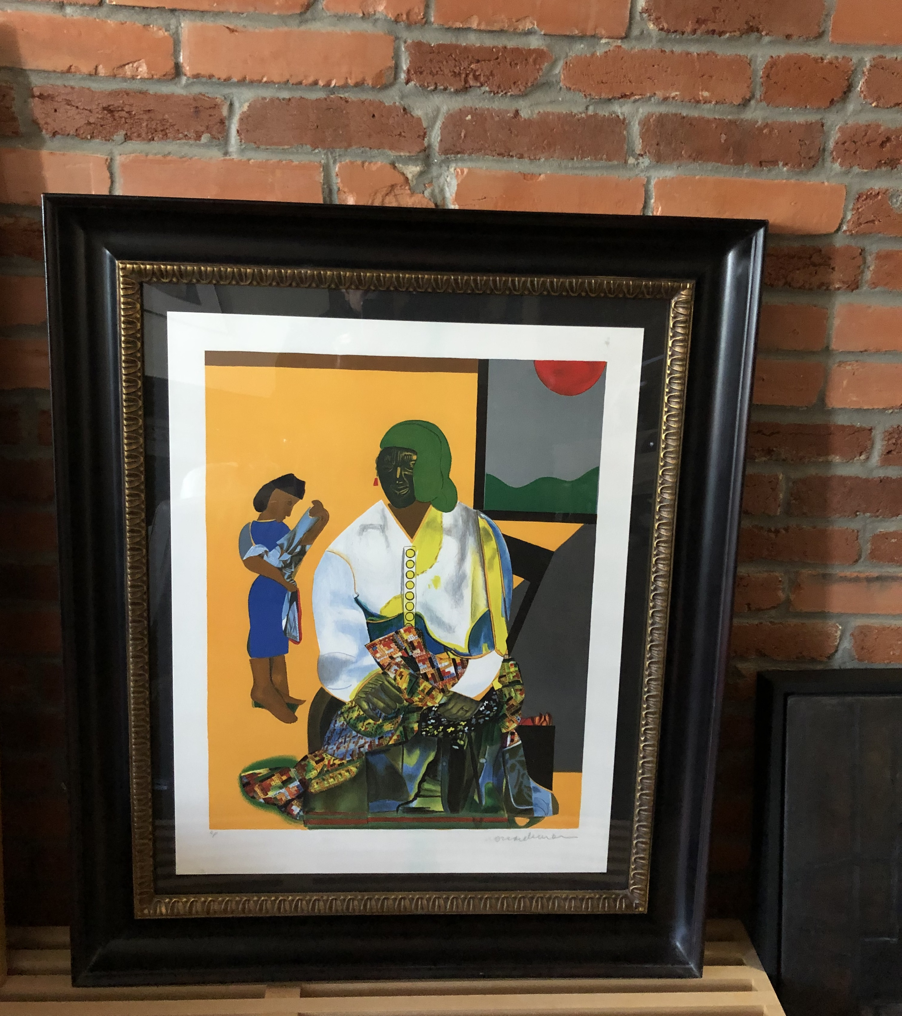 Two Ways To Hang Art On A Brick Wall Without Drilling Holes The Washington Post