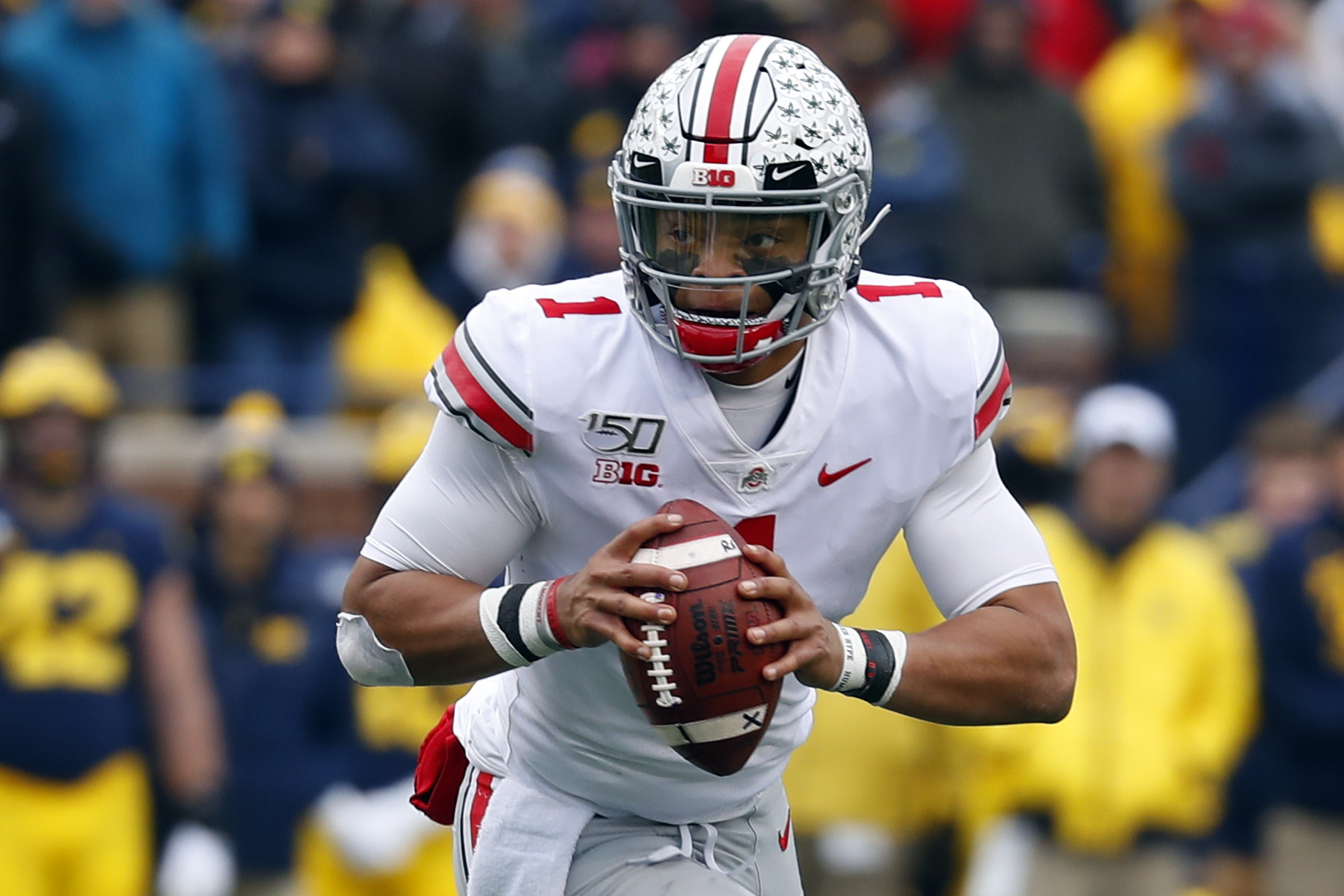 Ohio State s Justin Fields Starts Online Petition As Big Ten Parents Question Postponing Football The Washington Post