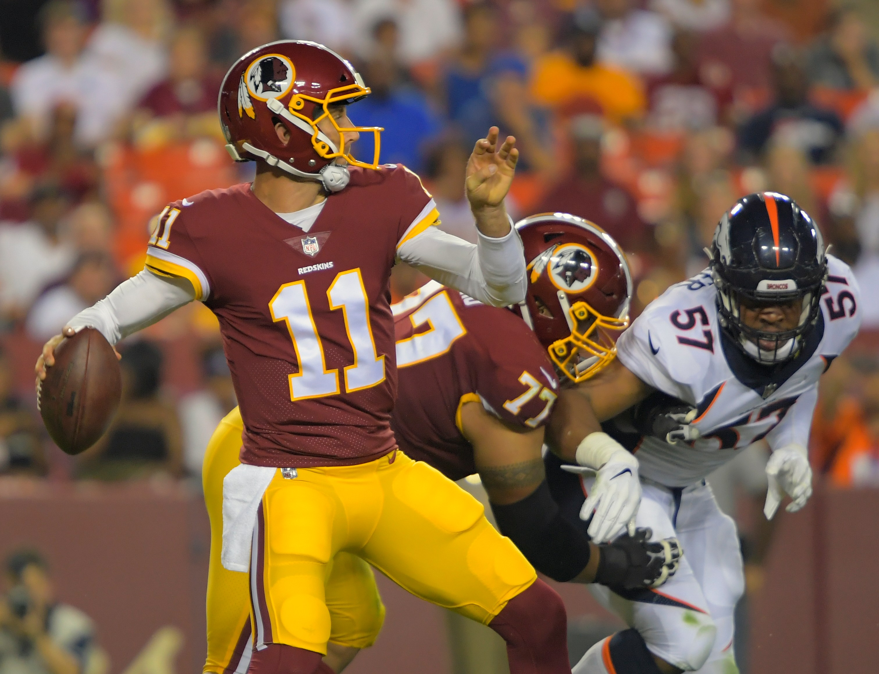 af6d7aa5 Four takeaways from the Redskins' preseason loss to the Broncos ...