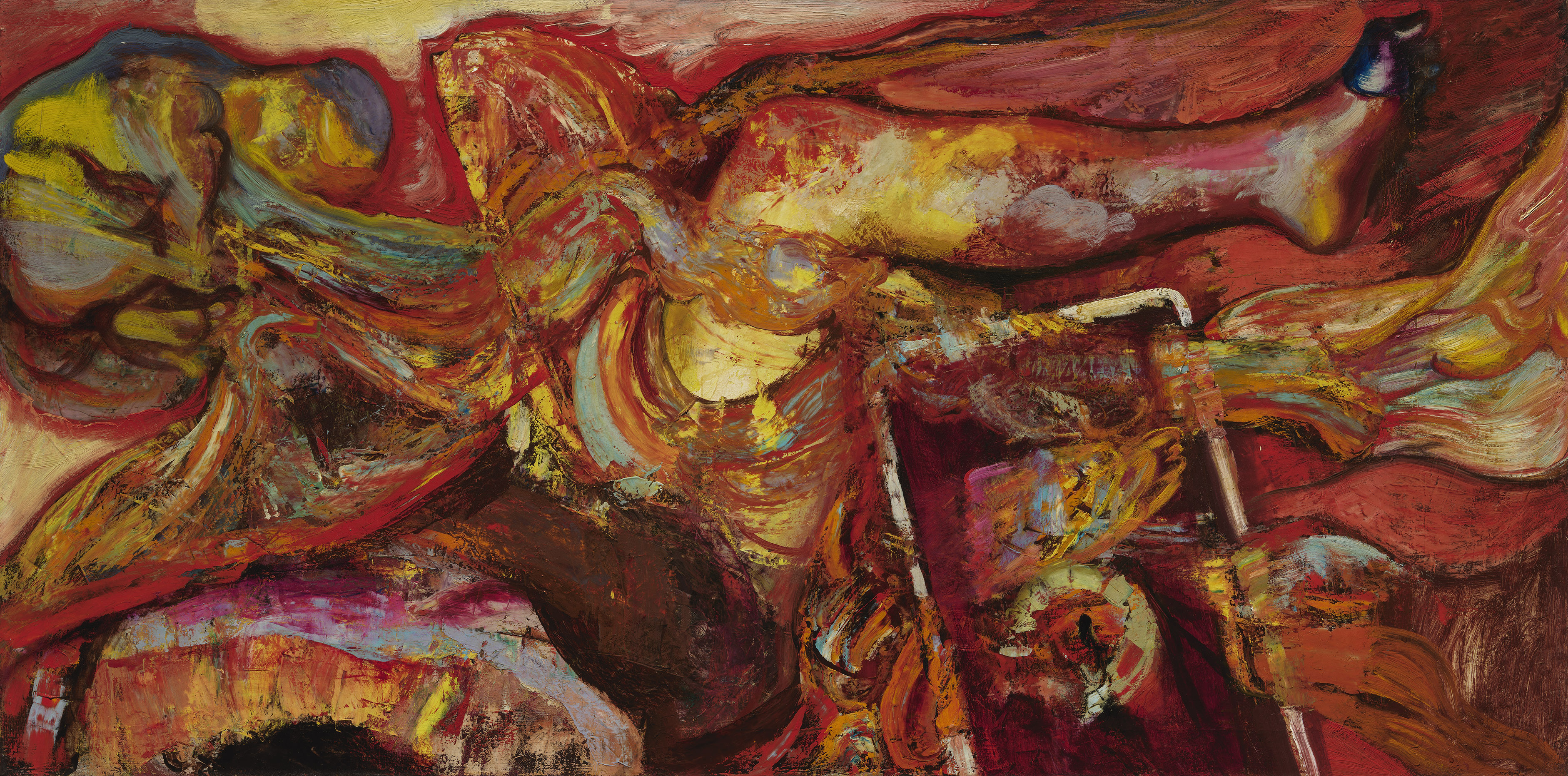 Hyman Bloom Is The Subject Of A Long Awaited Exhbition In Boston The Washington Post