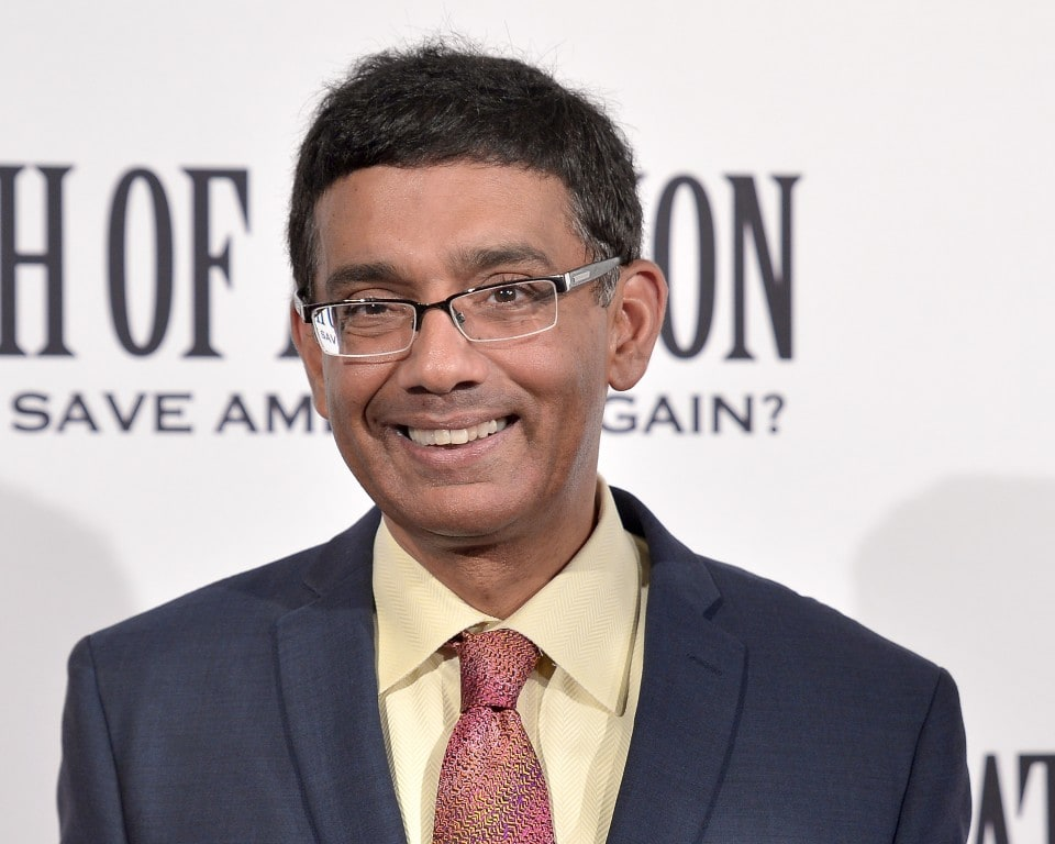 Under Trump, a red carpet for Dinesh D'Souza, who claims