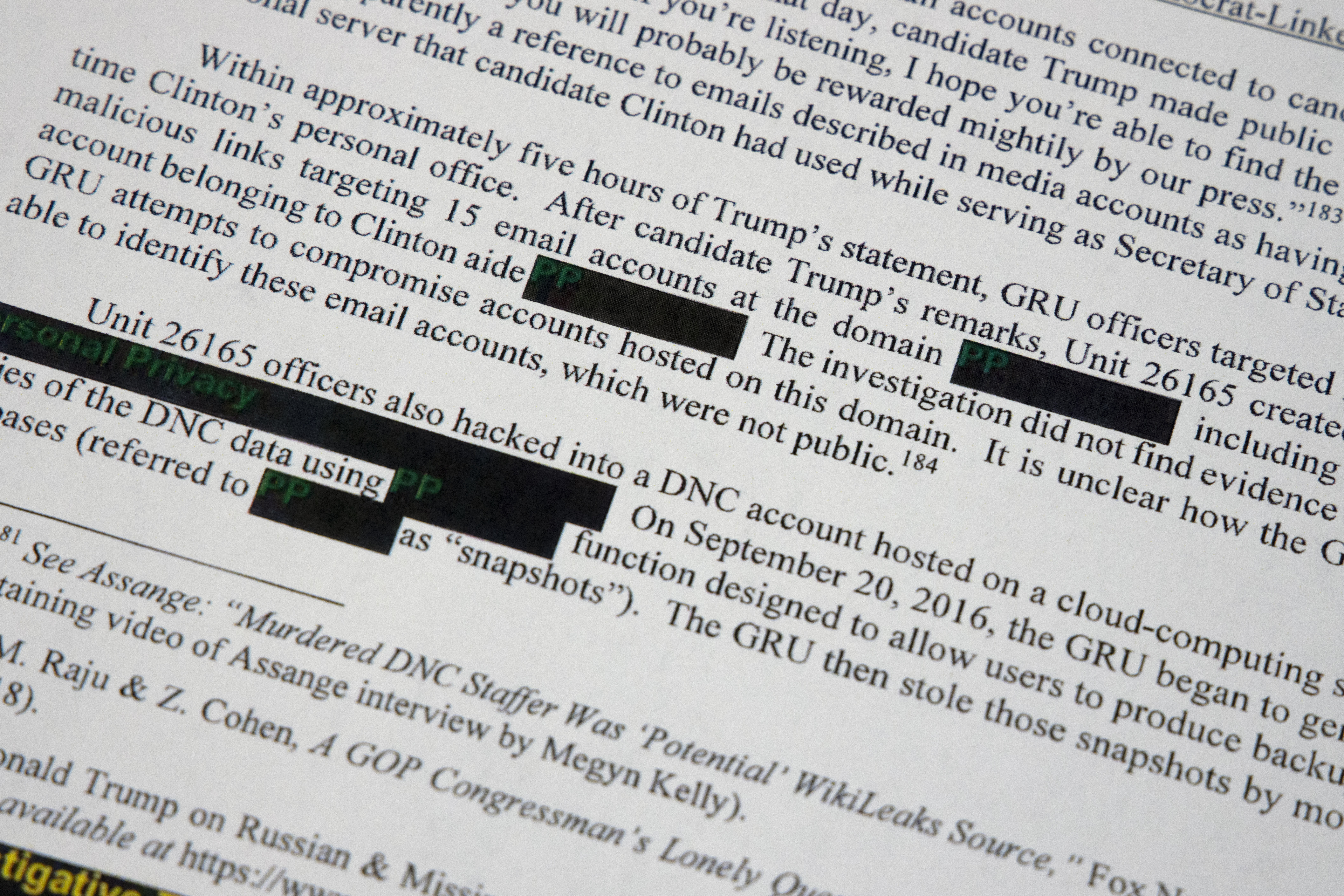 The Mueller report reads like an impeachment referral - The