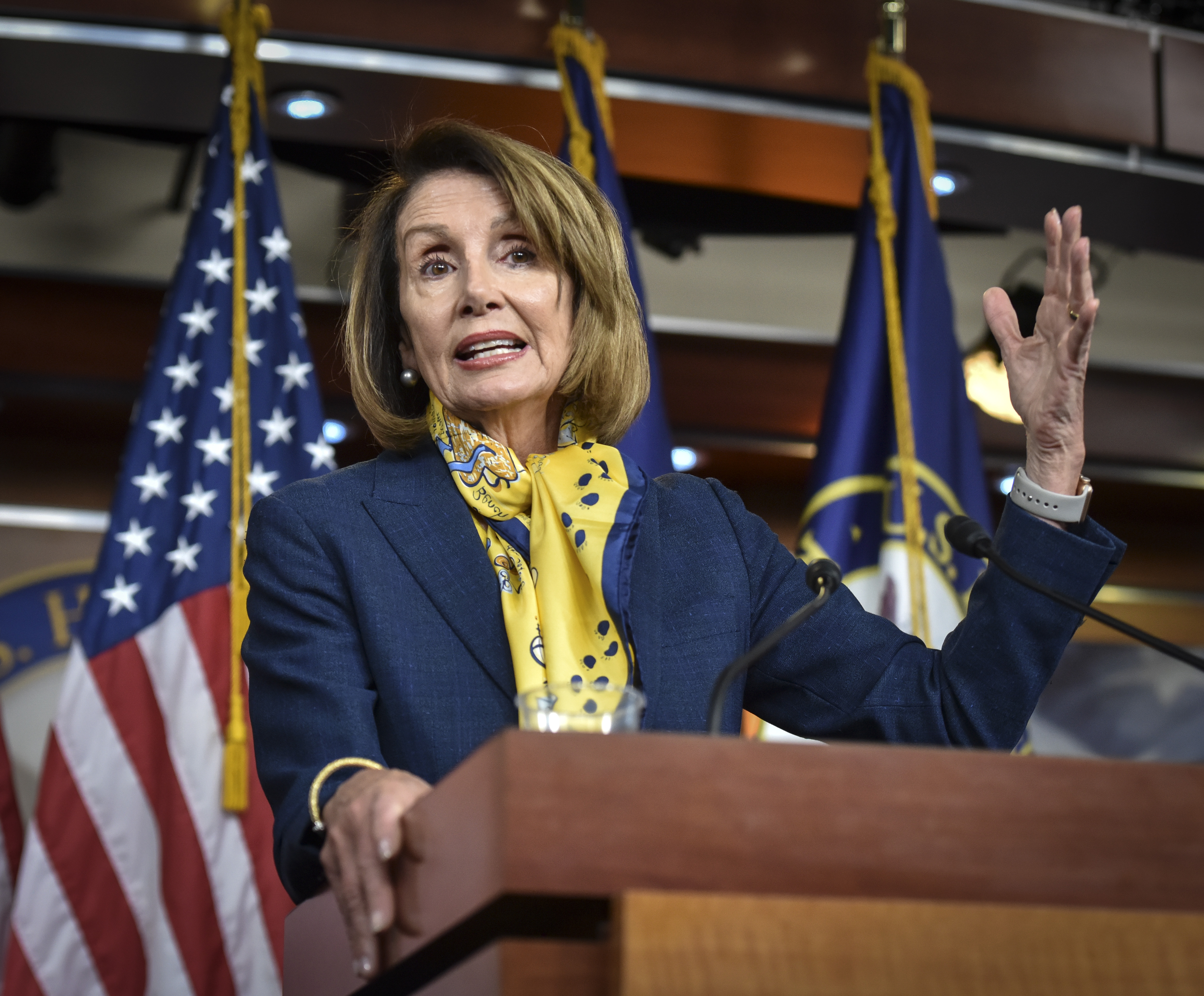 Pelosi is schooling Trump  He's a slow learner  - The