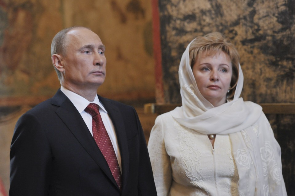 Putin S Ex Wife Returns To The Spotlight With A Dashing Young Husband And A Fancy French Villa The Washington Post