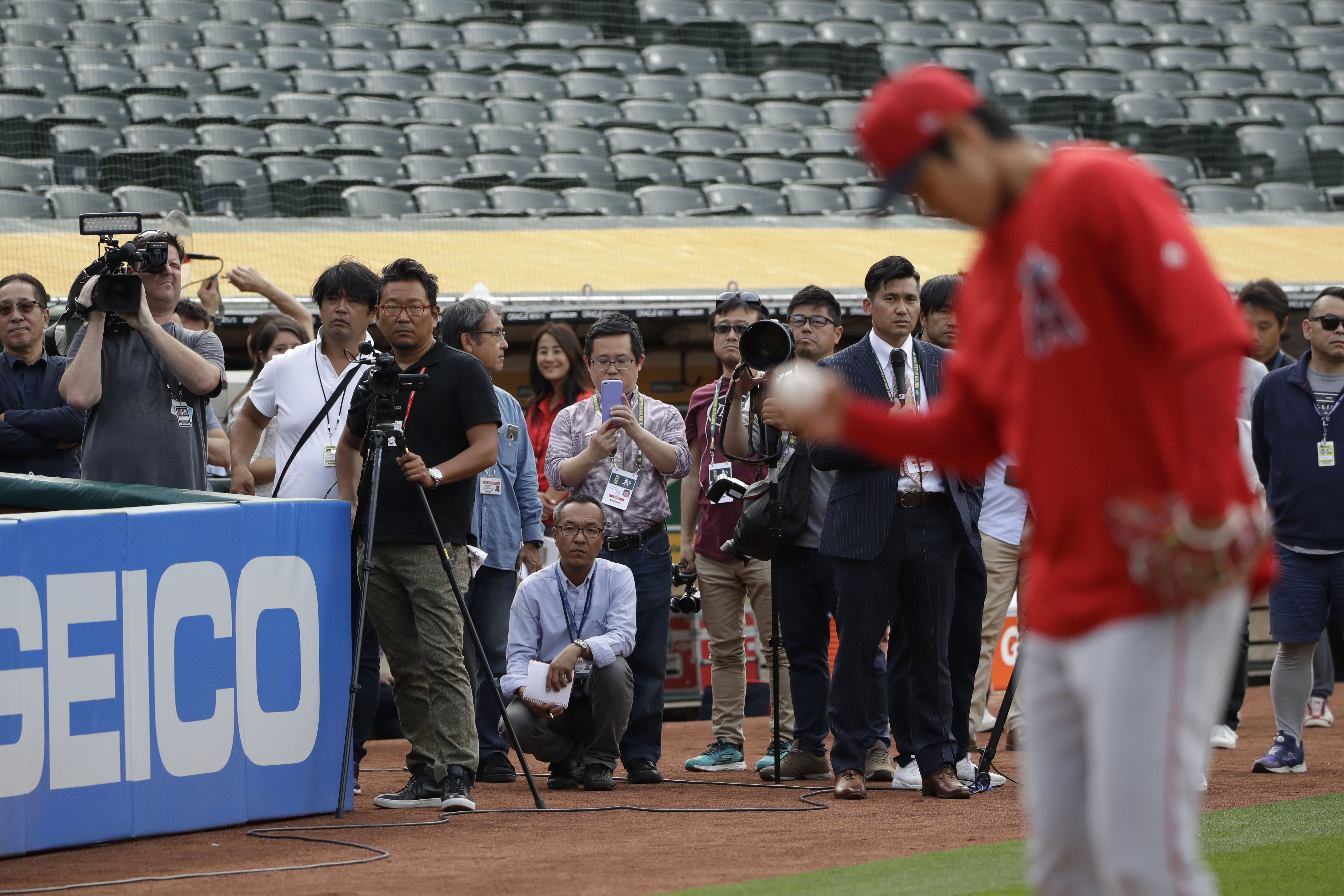 Every day is the craziest': Japanese press tailing Shohei Ohtani is