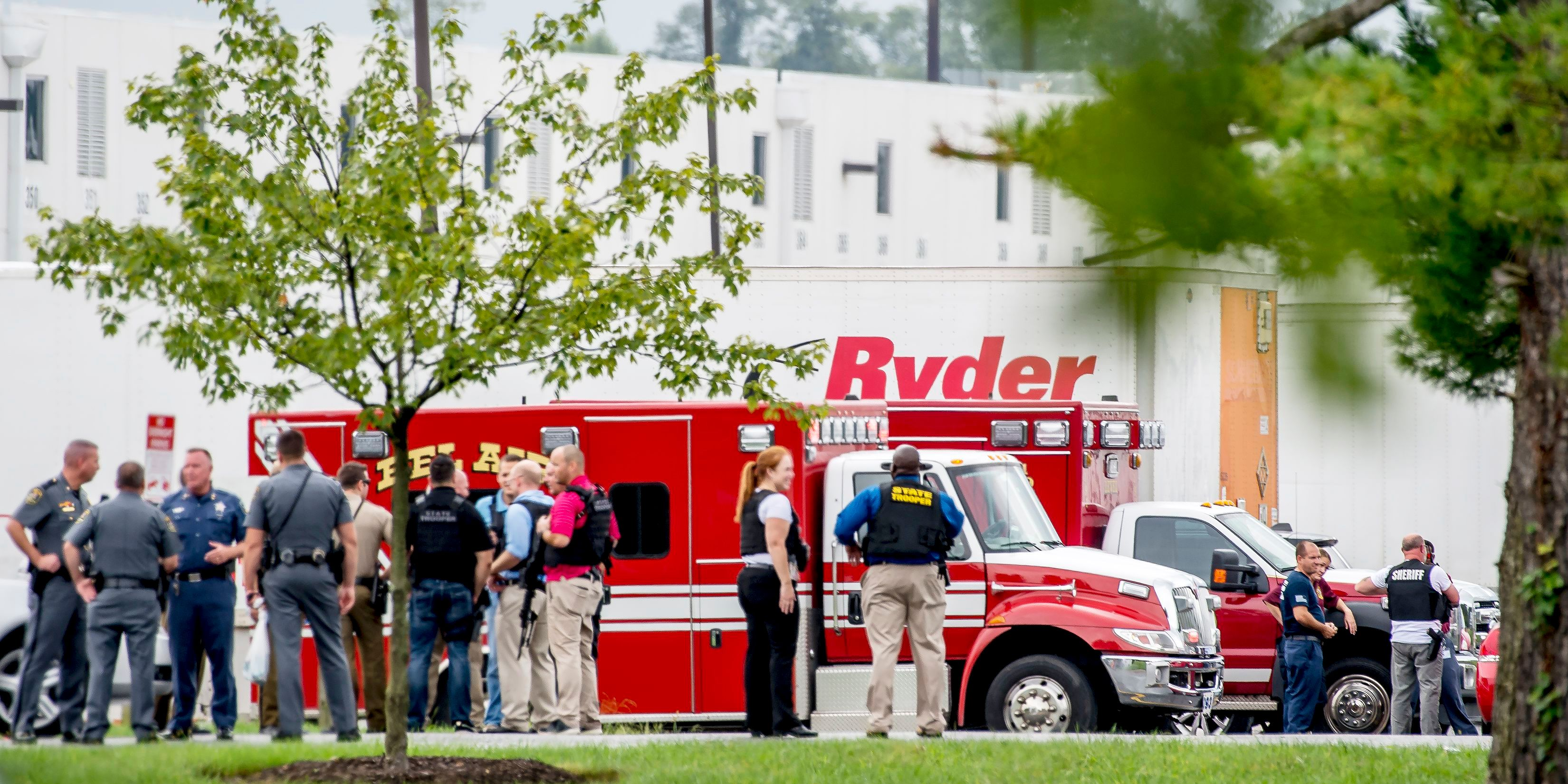 Maryland shooting: Rite Aid facility in Aberdeen site of