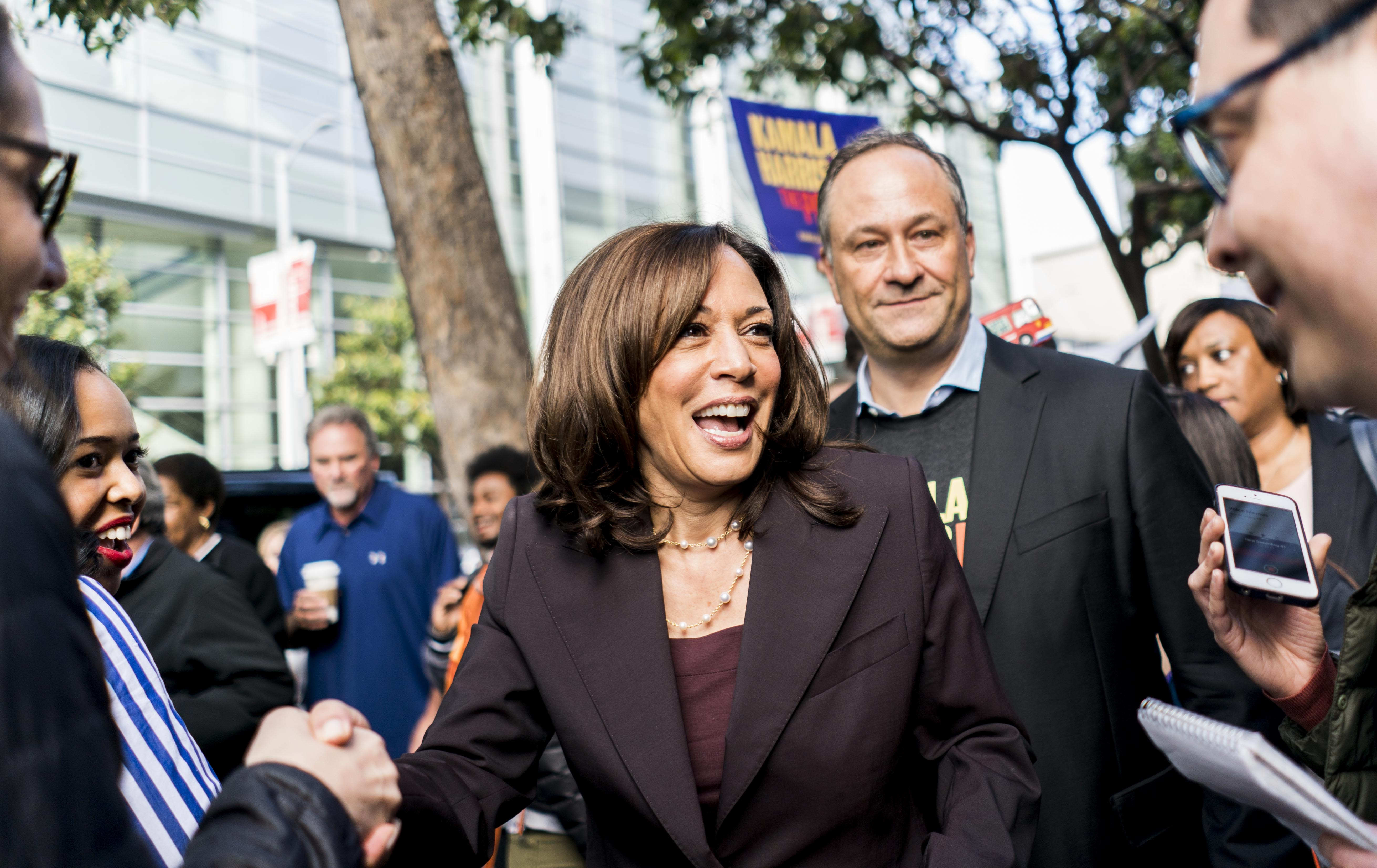 Doug Emhoff And Kamala Harris A Match Made In Hollywood Literally The Washington Post