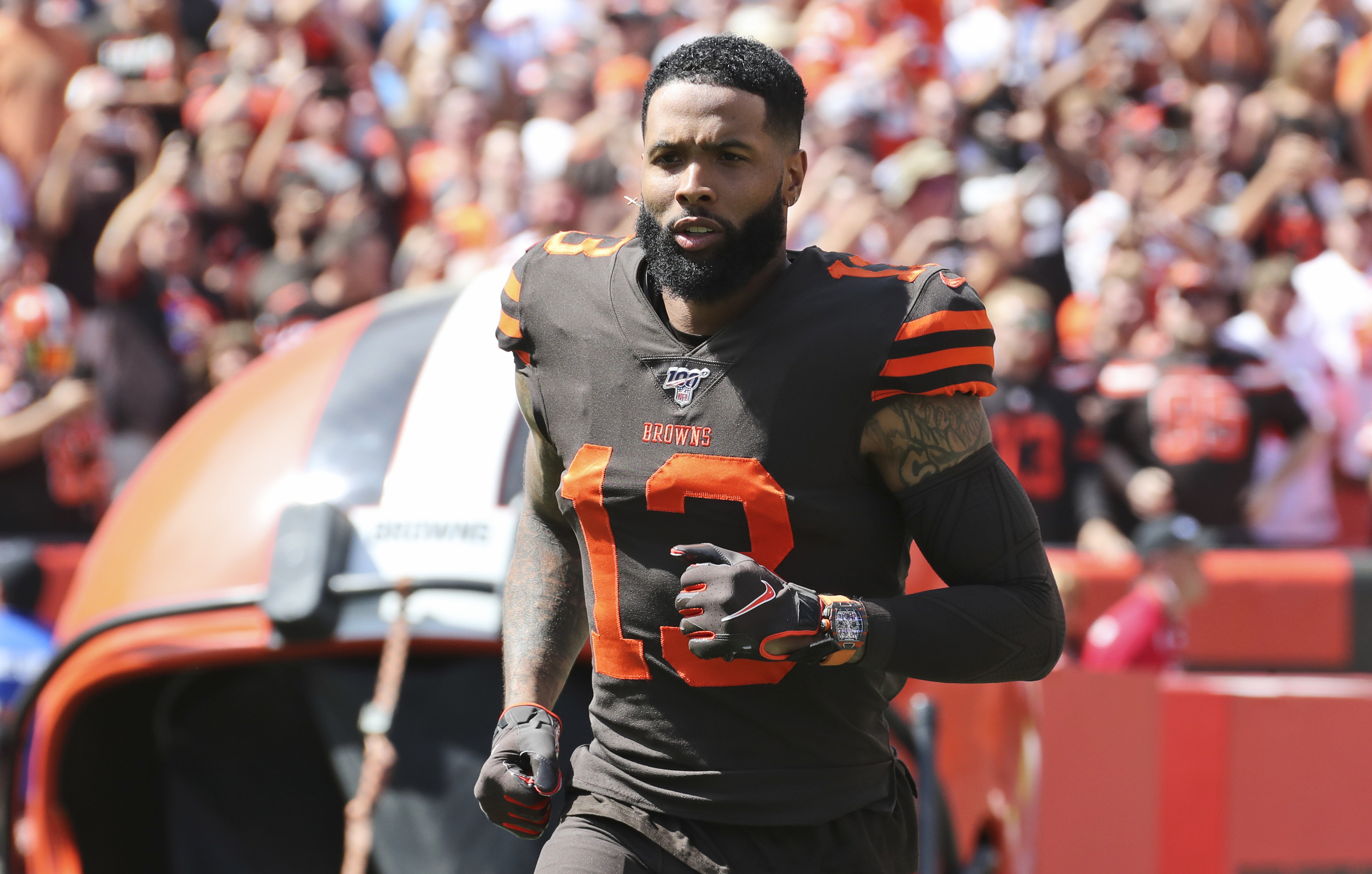 Odell Beckham Jr Plans To Continue Wearing His Richard Mille Watch During Games The Washington Post