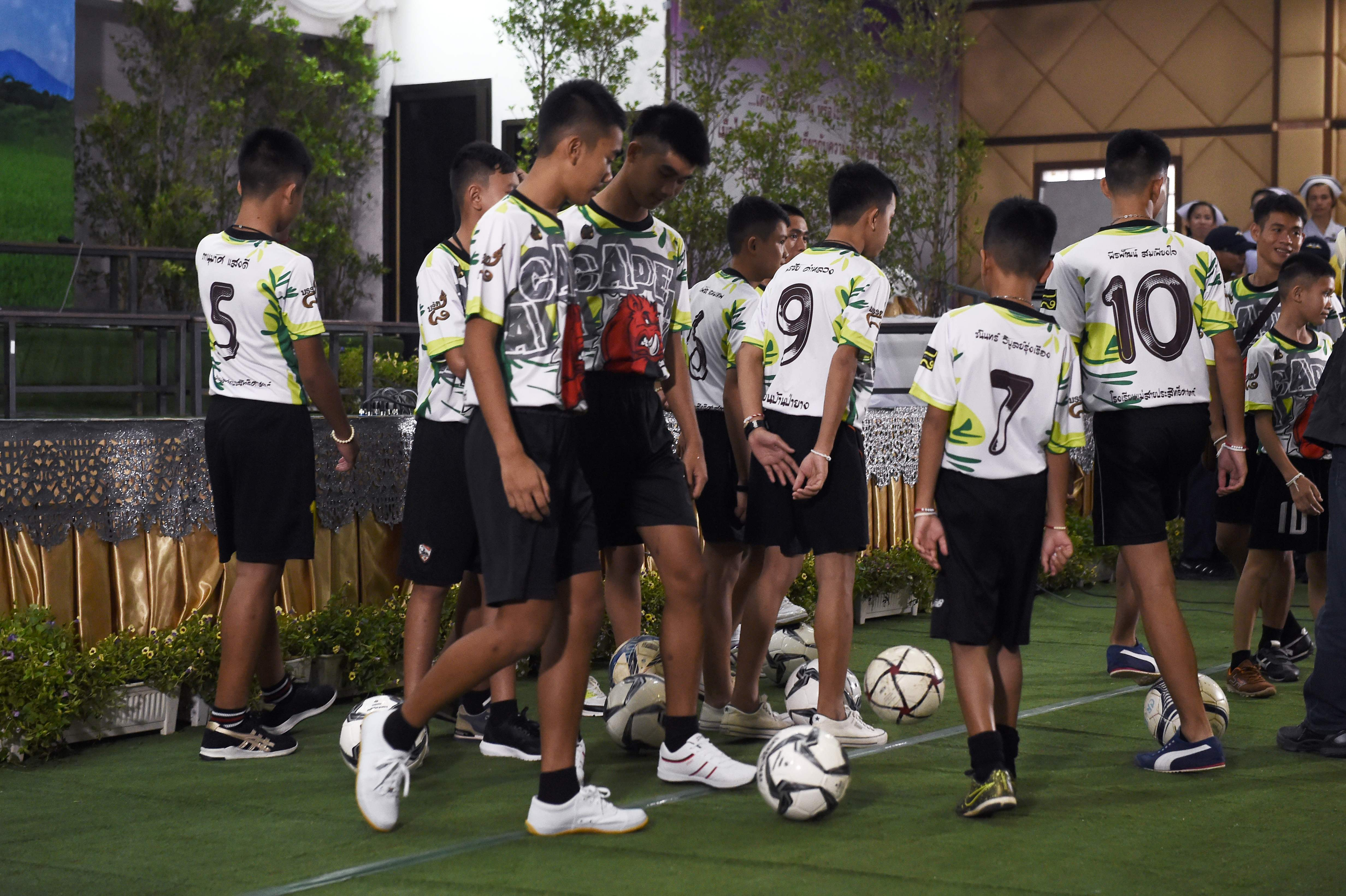 Thai Cave Rescue Soccer Players And Coach Speak Publicly For First