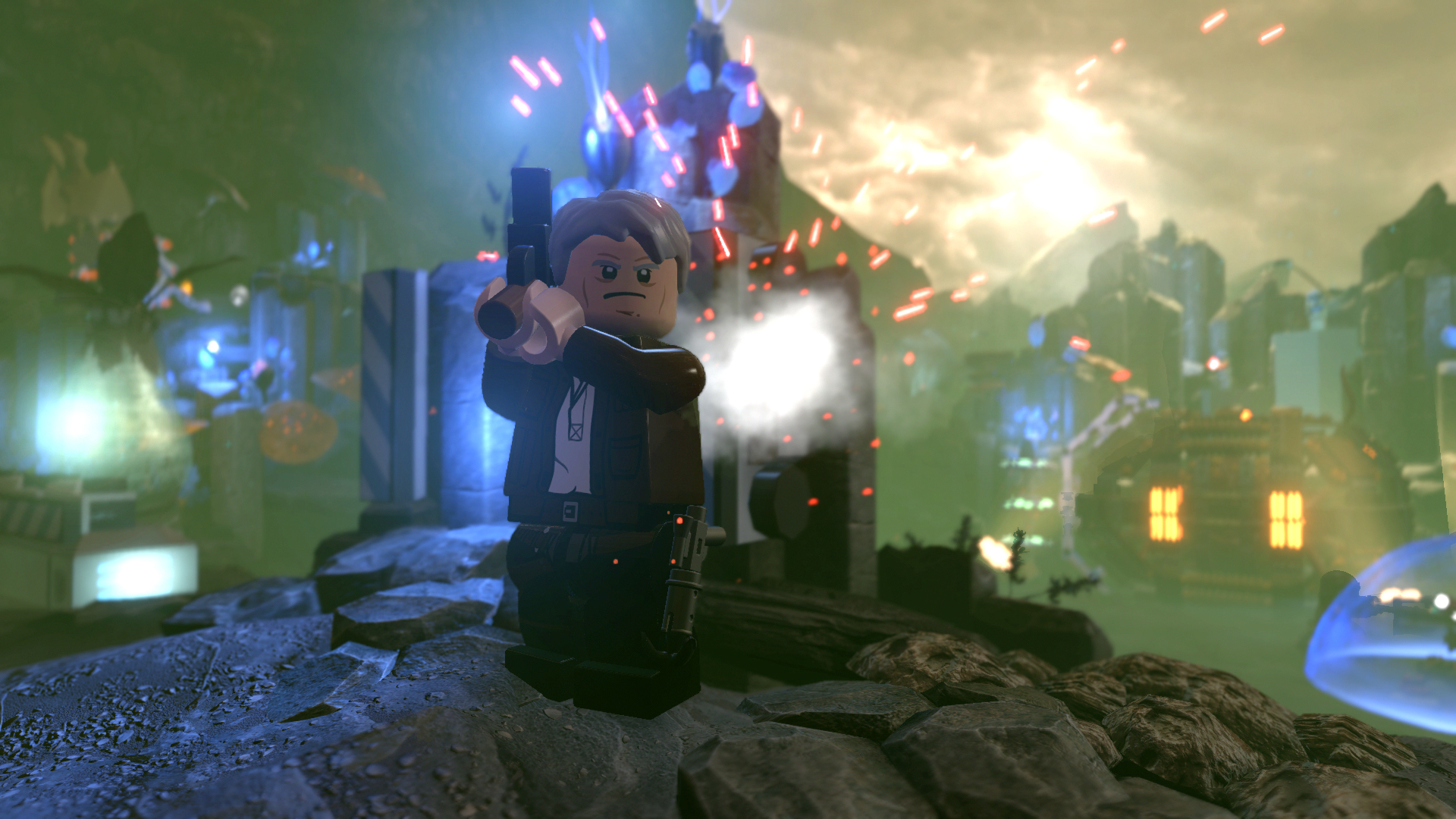 Lego Star Wars The Force Awakens Has Just Enough Comedy To Get You By The Washington Post