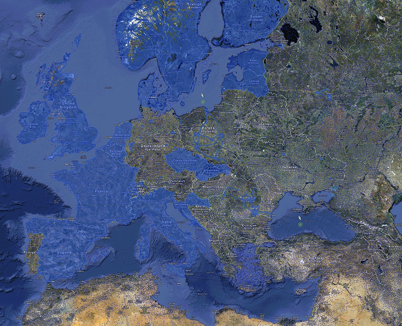 Our Digitized Earth: A world map of Google Street View ... on latest map of europe, google road map europe, google switzerland europe, google maps eastern europe, google maps street view, google world maps with countries, home map of europe, easy to read map of europe, war map of europe, full map of europe, google search map of europe, london on map of europe, garmin map of europe, old world map of europe, largest cave in europe, bern on map of europe, detailed map of europe, size of europe, google maps europe slovenia, google map of western europe,