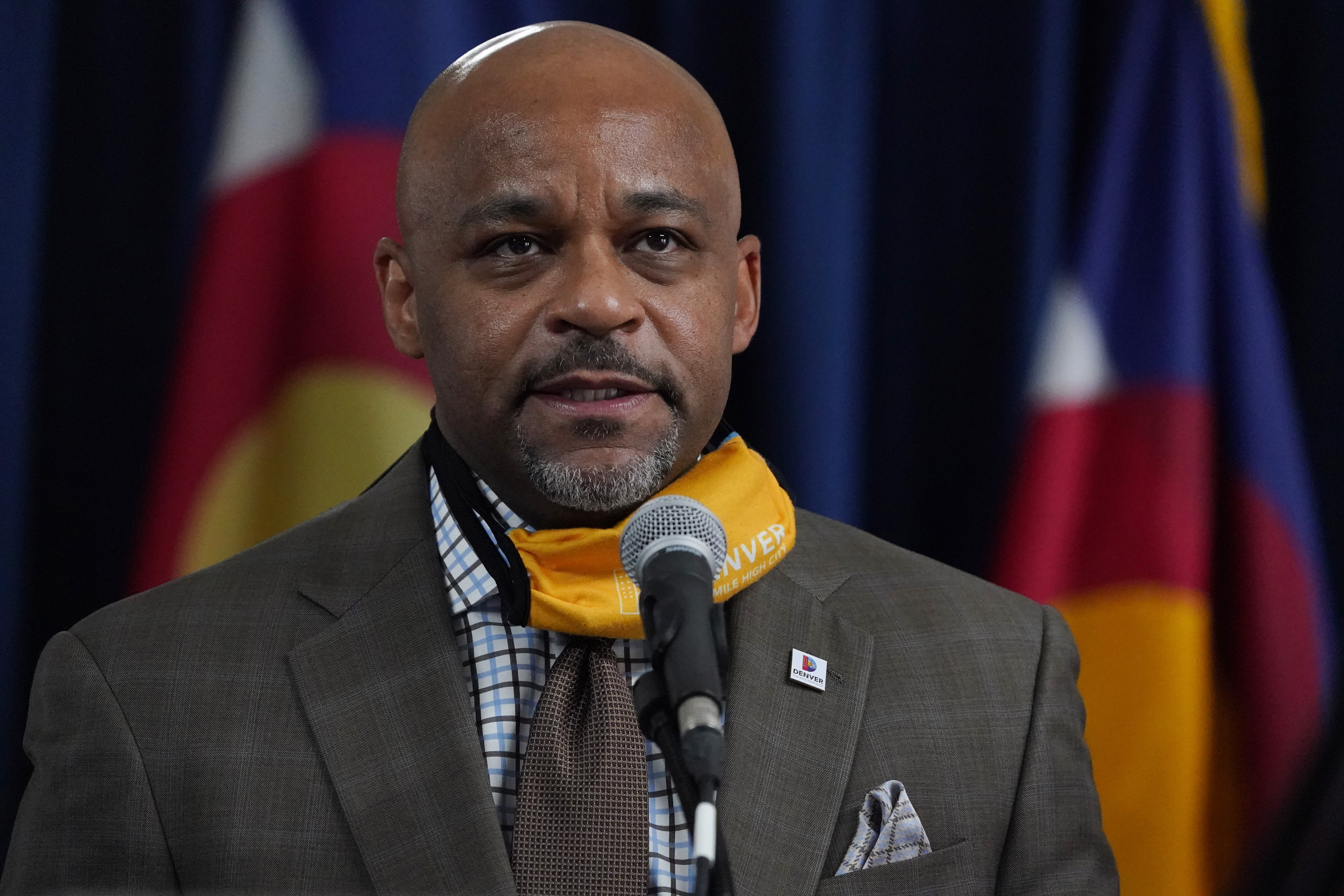 Denver Mayor Michael Hancock Urged Residents Not To Travel For Thanksgiving Just Before Flying To Mississippi The Washington Post