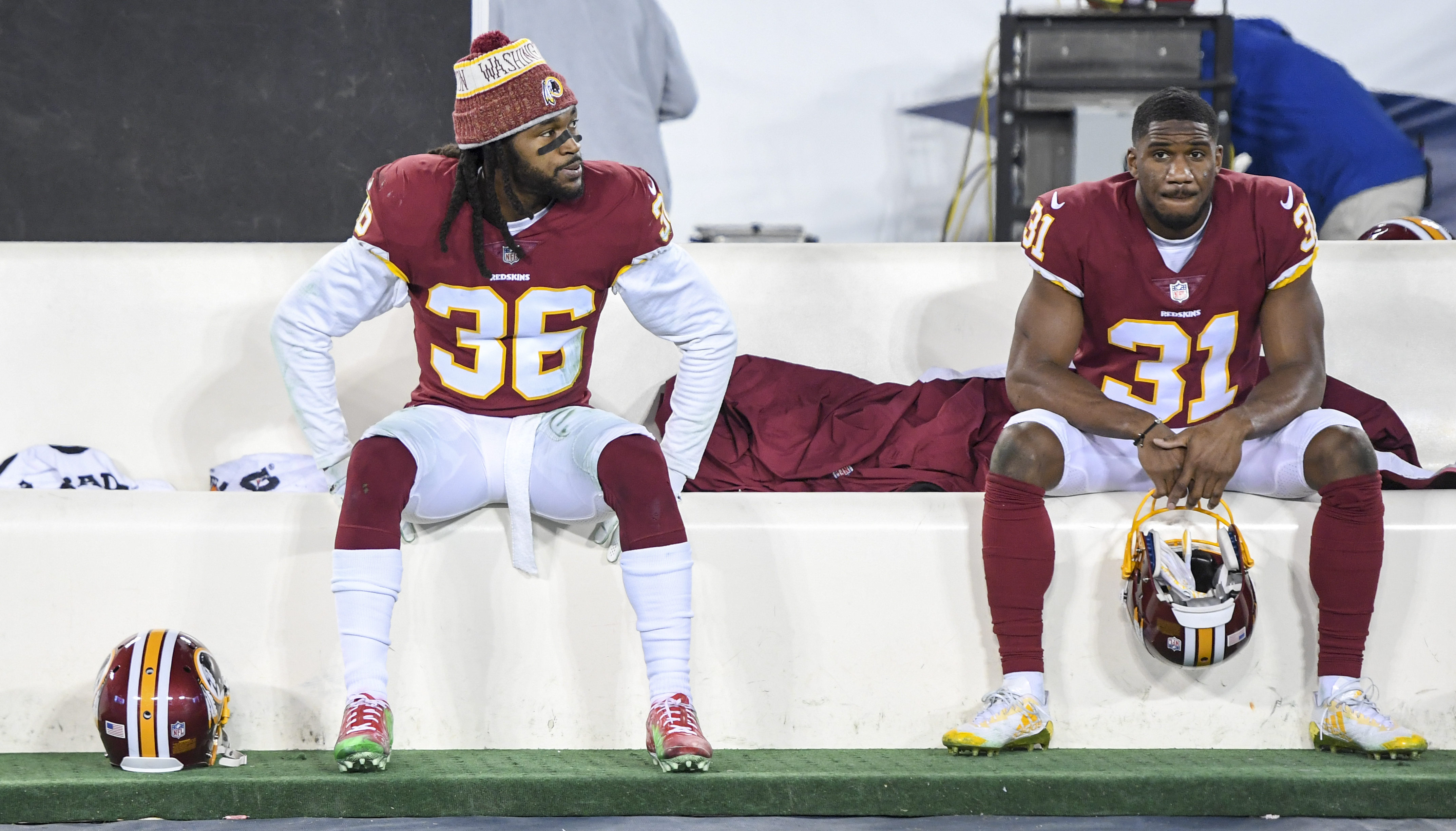 purchase cheap 10748 afc69 Jay Gruden: Redskins warned D.J. Swearinger about airing ...
