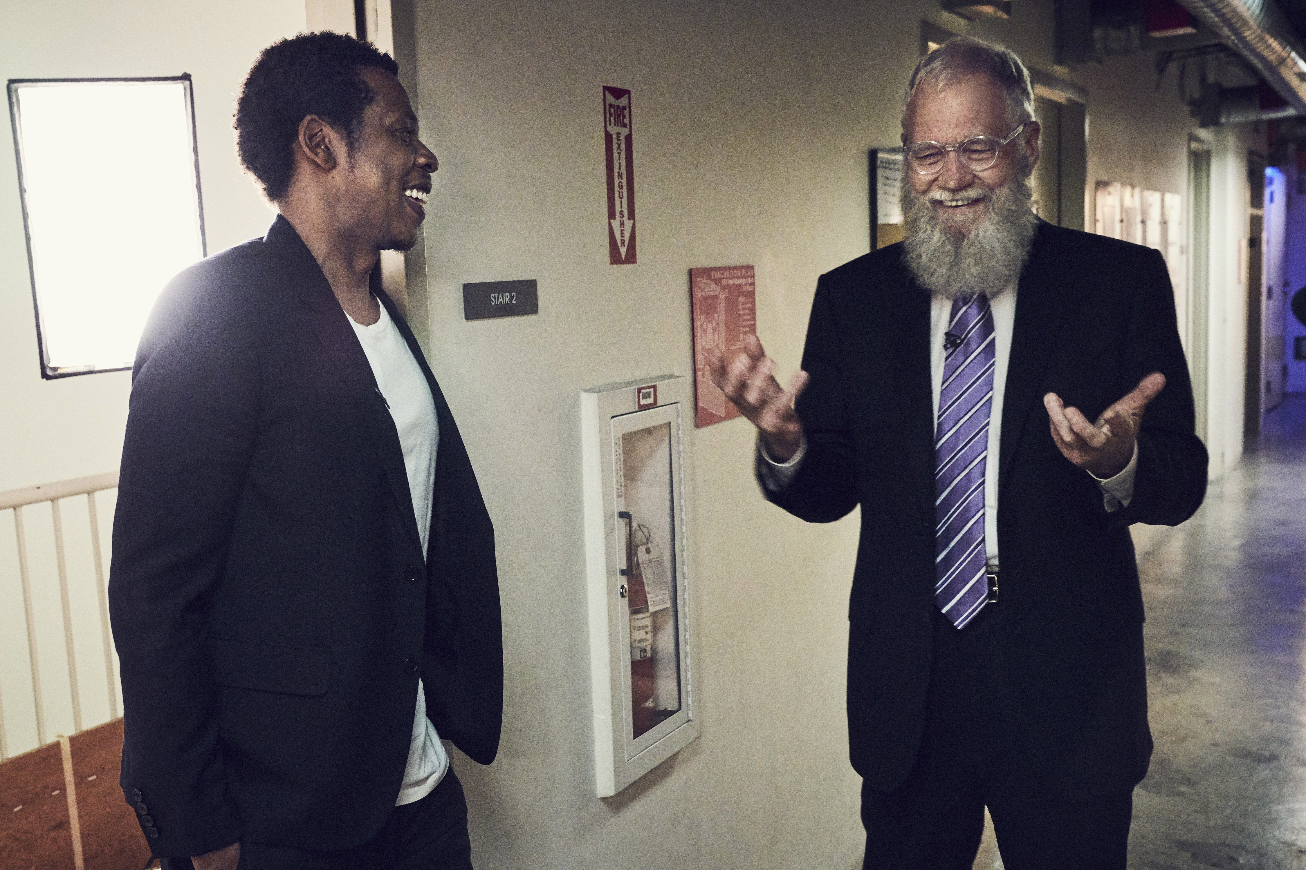 Jay-Z opens up to David Letterman about cheating on Beyoncé and his