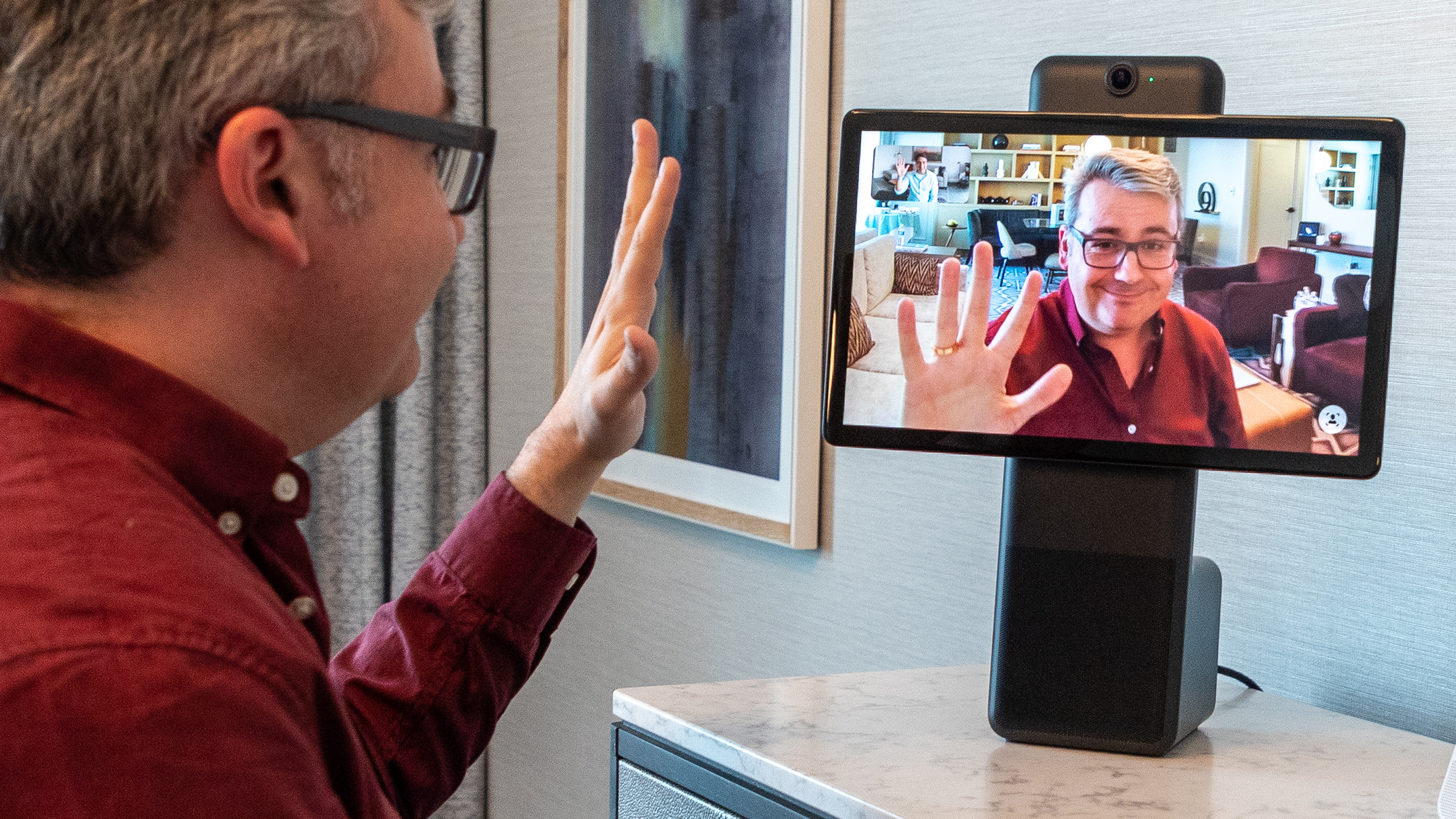 Facebook unveils the Portal, a video chat camera for the