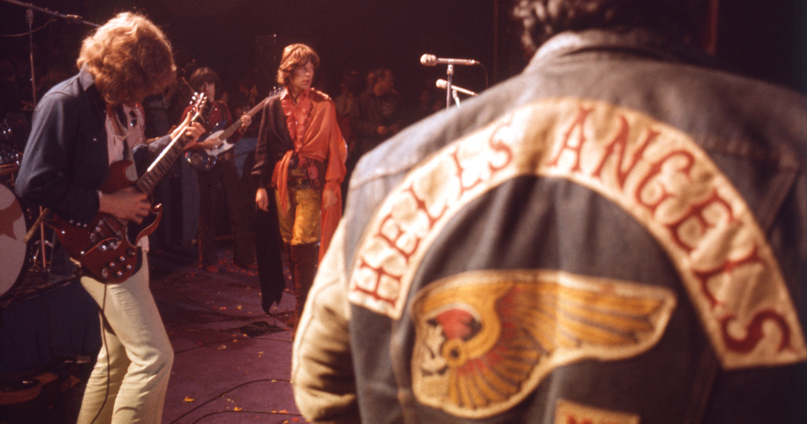 50 years ago the Rolling Stones headlined a 'West Coast Woodstock.'Altamont ended the '60s with chaos and death.