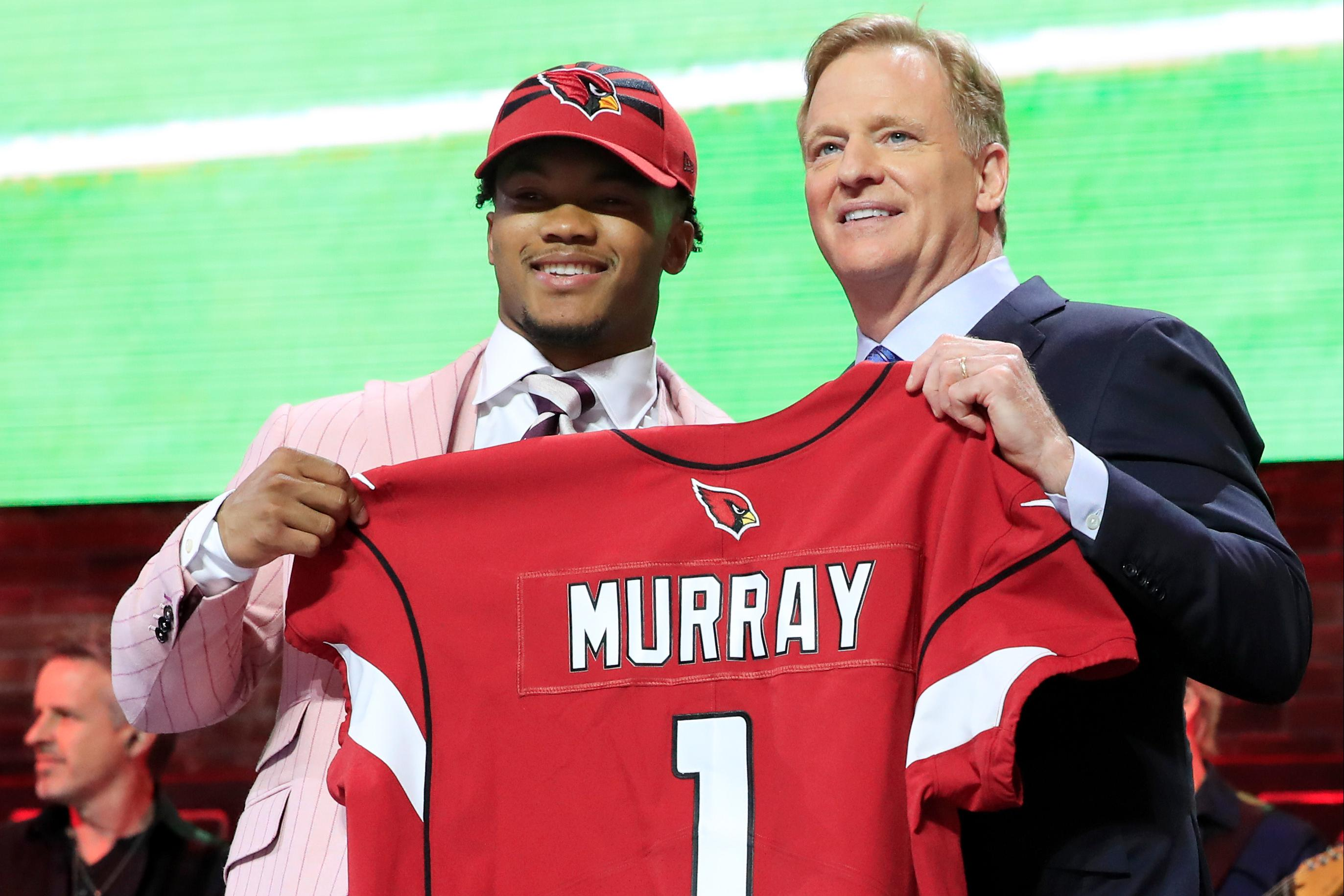 low priced e7276 4bc2a Kyler Murray goes No. 1 in first round of NFL draft ...