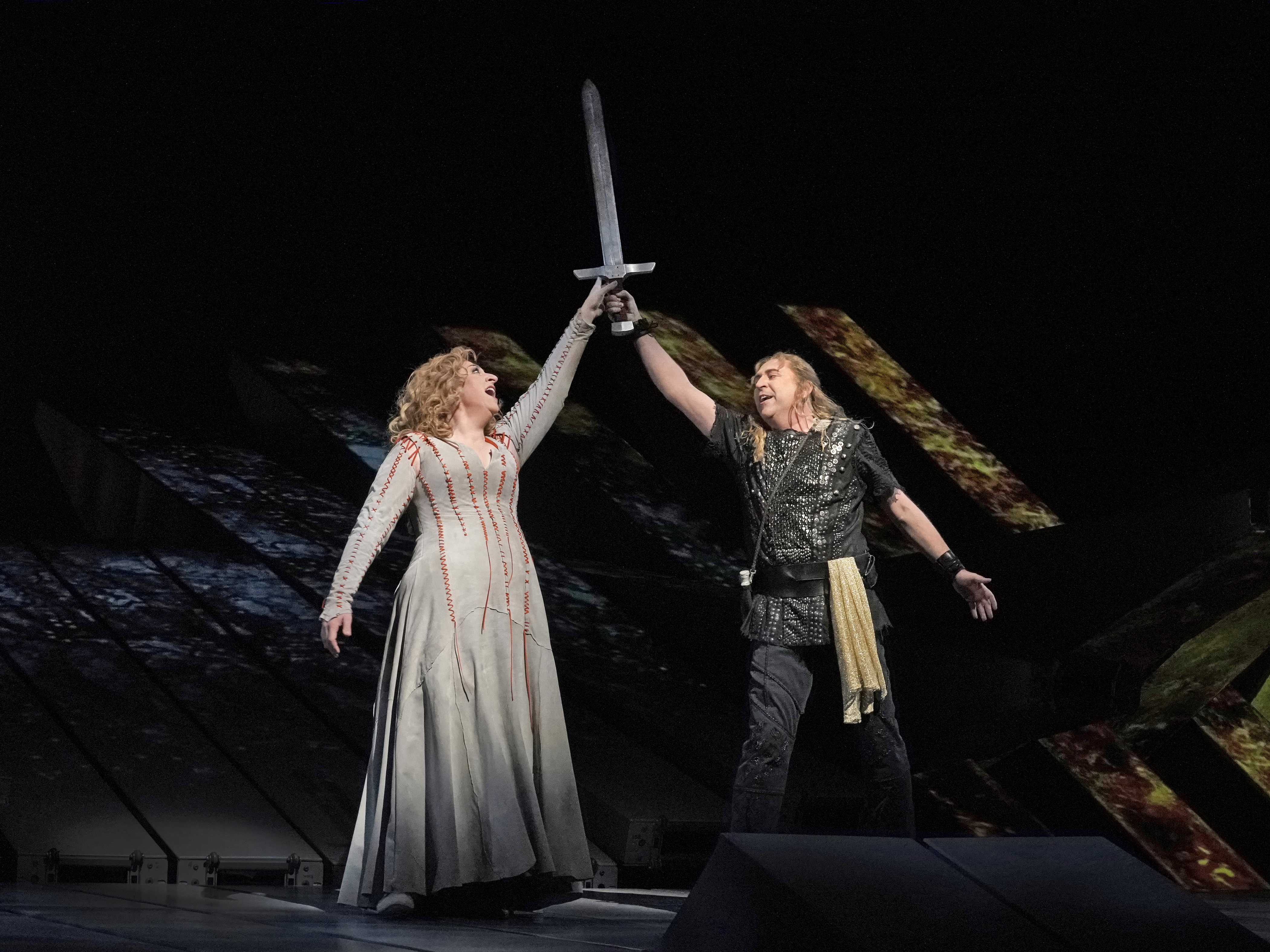 METROPOLITAN OPERA HOUSE NEW YORK FORGING THE SWORD