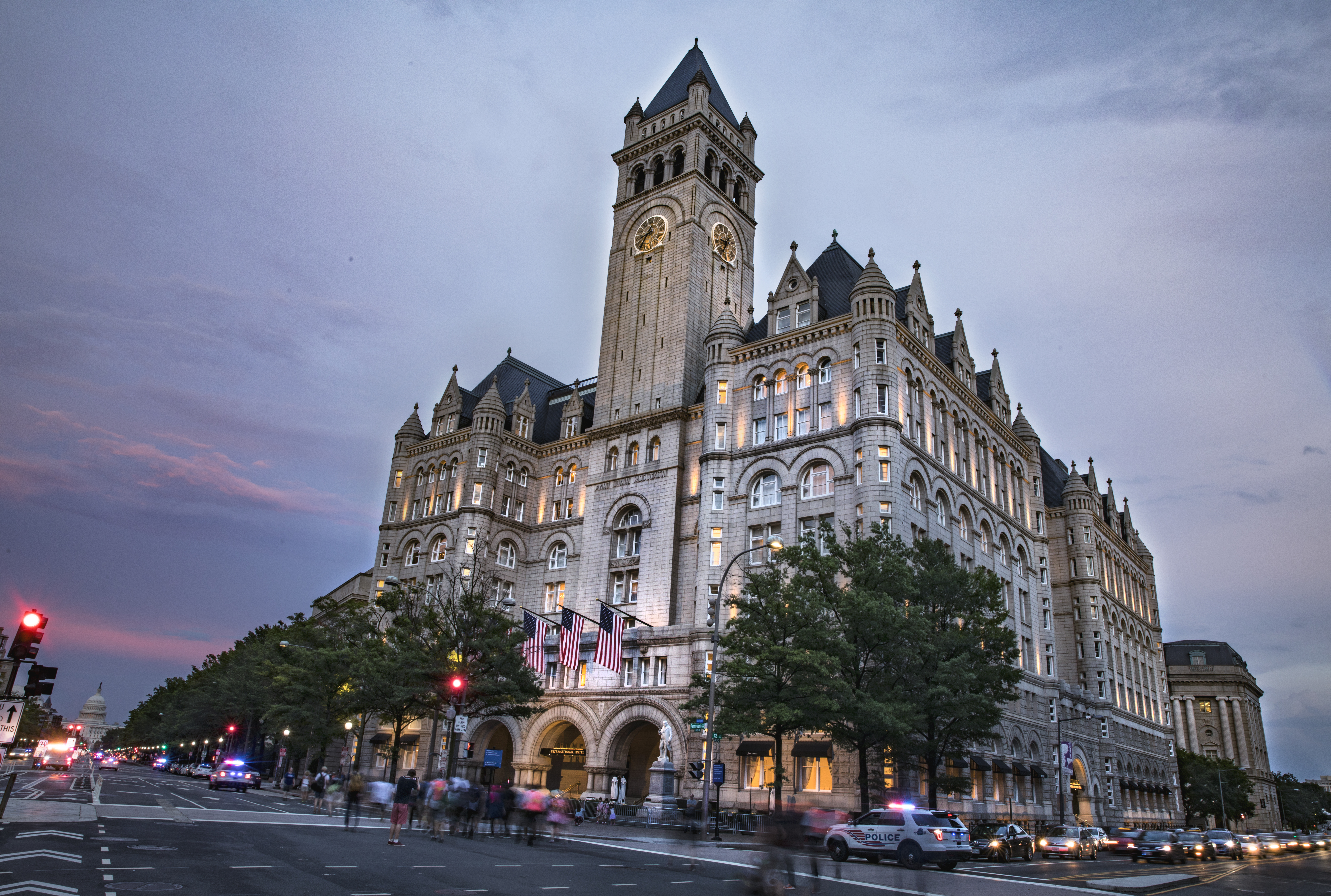 Saudi-funded lobbyist paid for 500 rooms at Trump's hotel after 2016 election