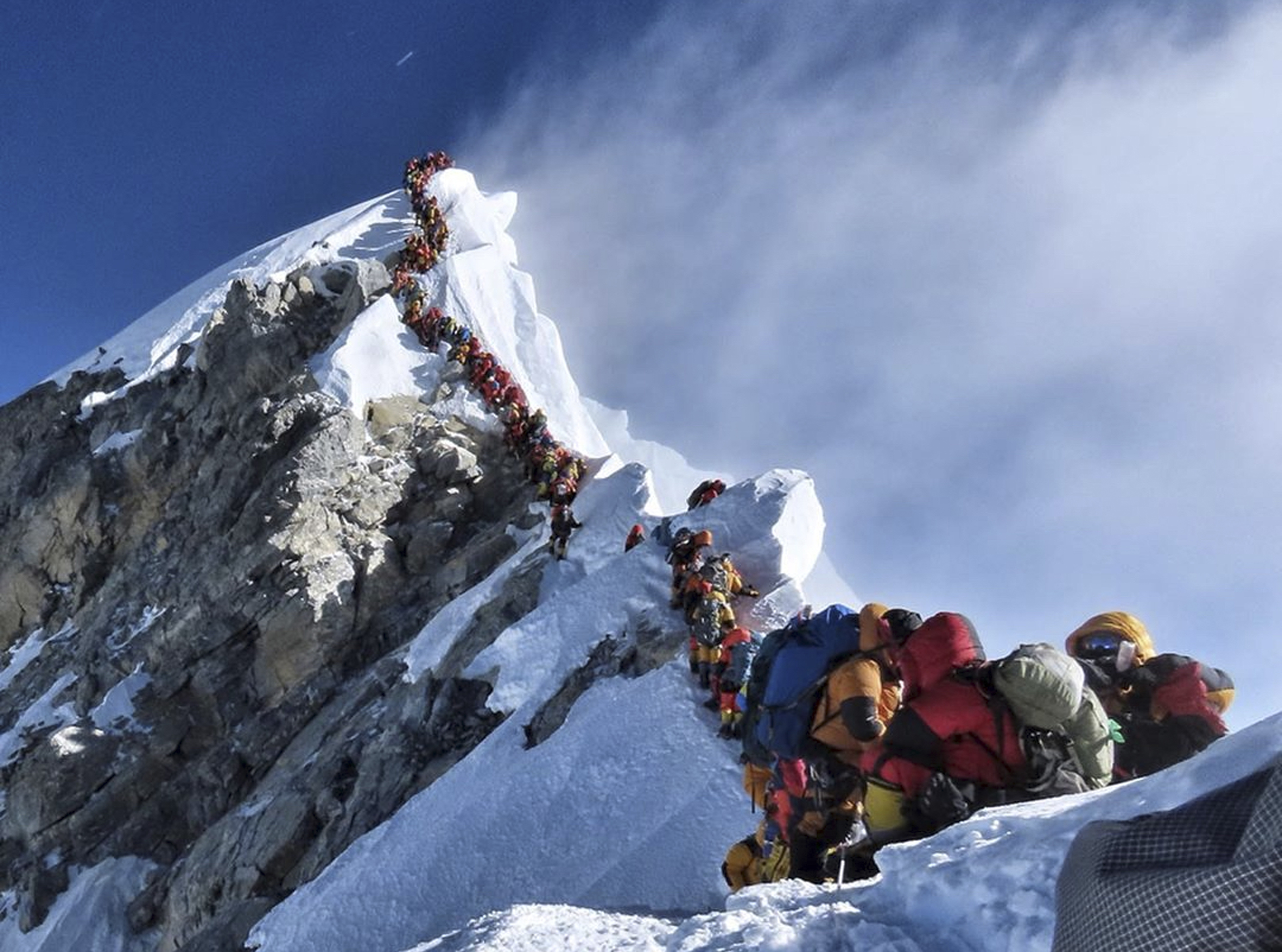 Mount Everest is packed  Whose fault is that? - The
