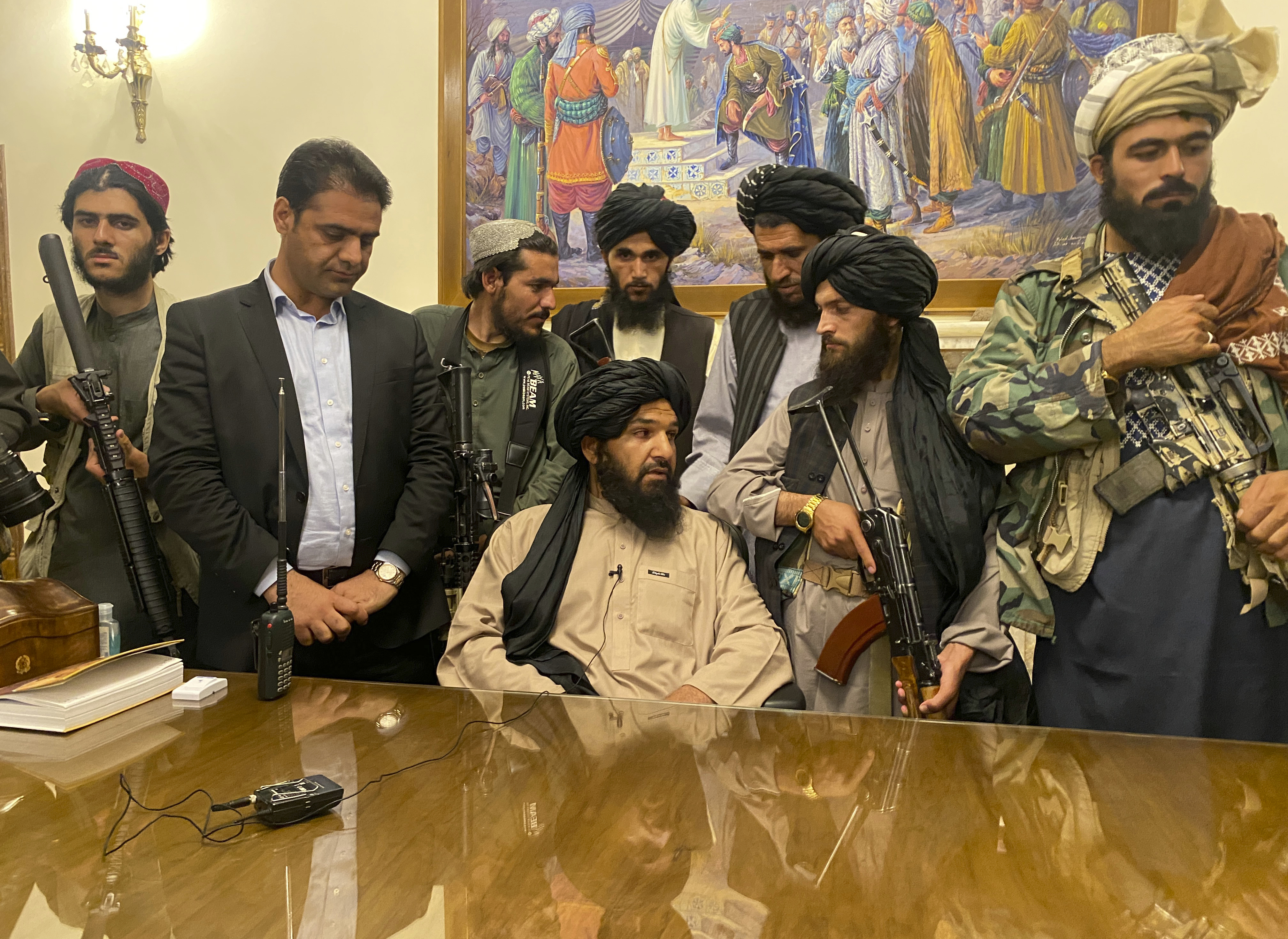 Taliban sweep into Afghan capital after government collapses - The  Washington Post